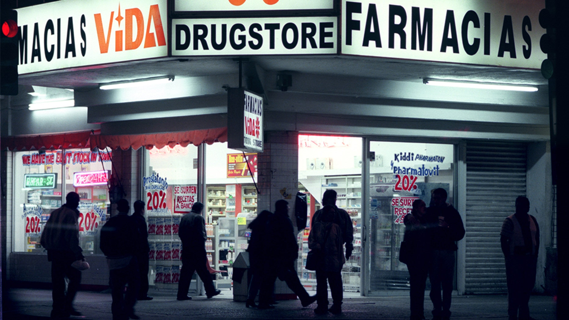 Pharmacies in Tijuana are open to those who come from the United States in search of low prices.