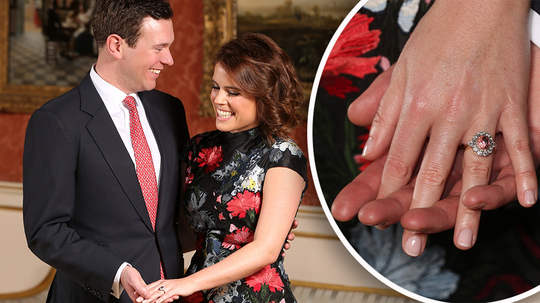 Princess Eugenie and Kate Middleton have similar engagement rings - here's why!