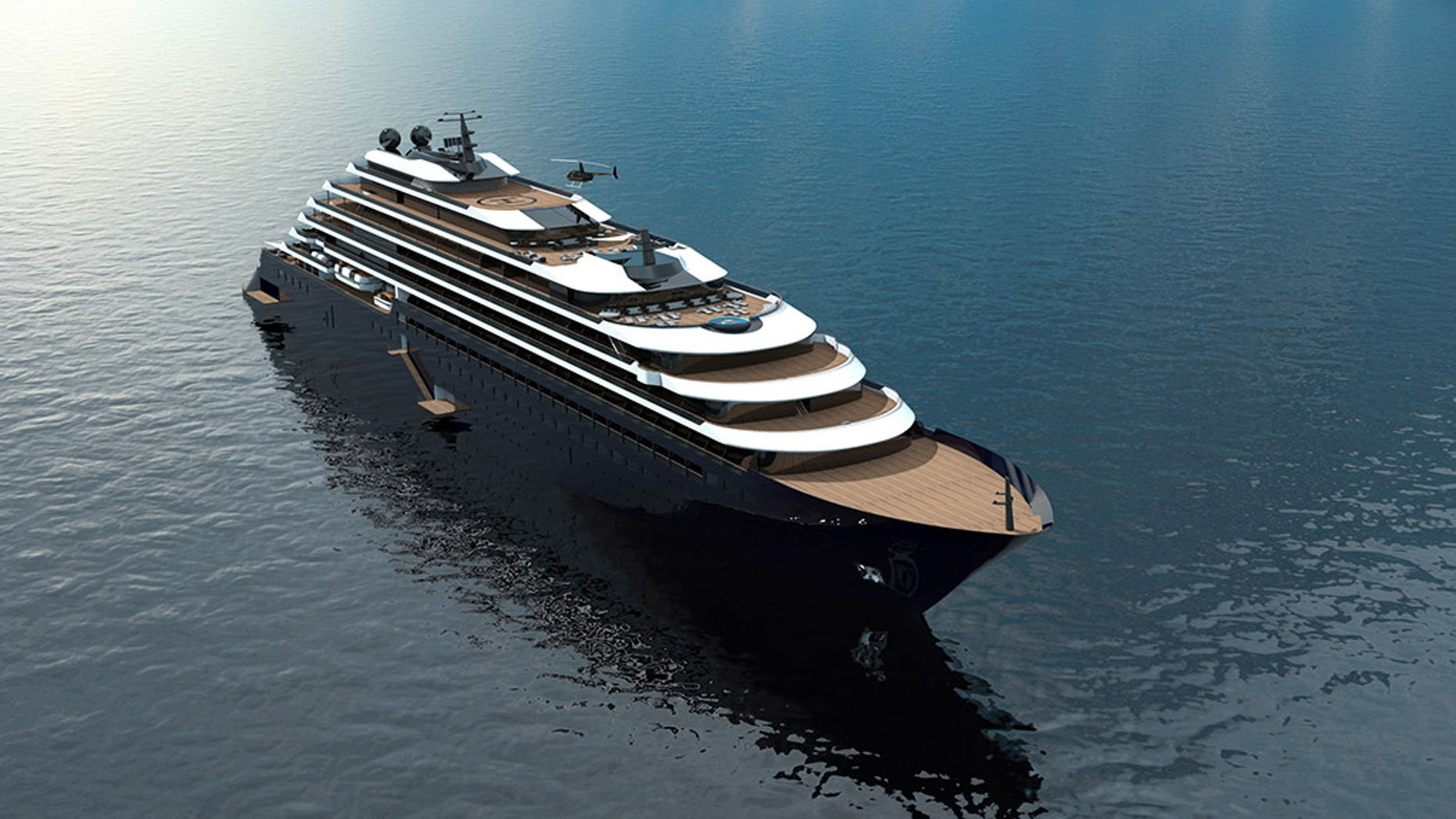 The luxury hotel company celebrated with a launching ceremony and maritime blessing.