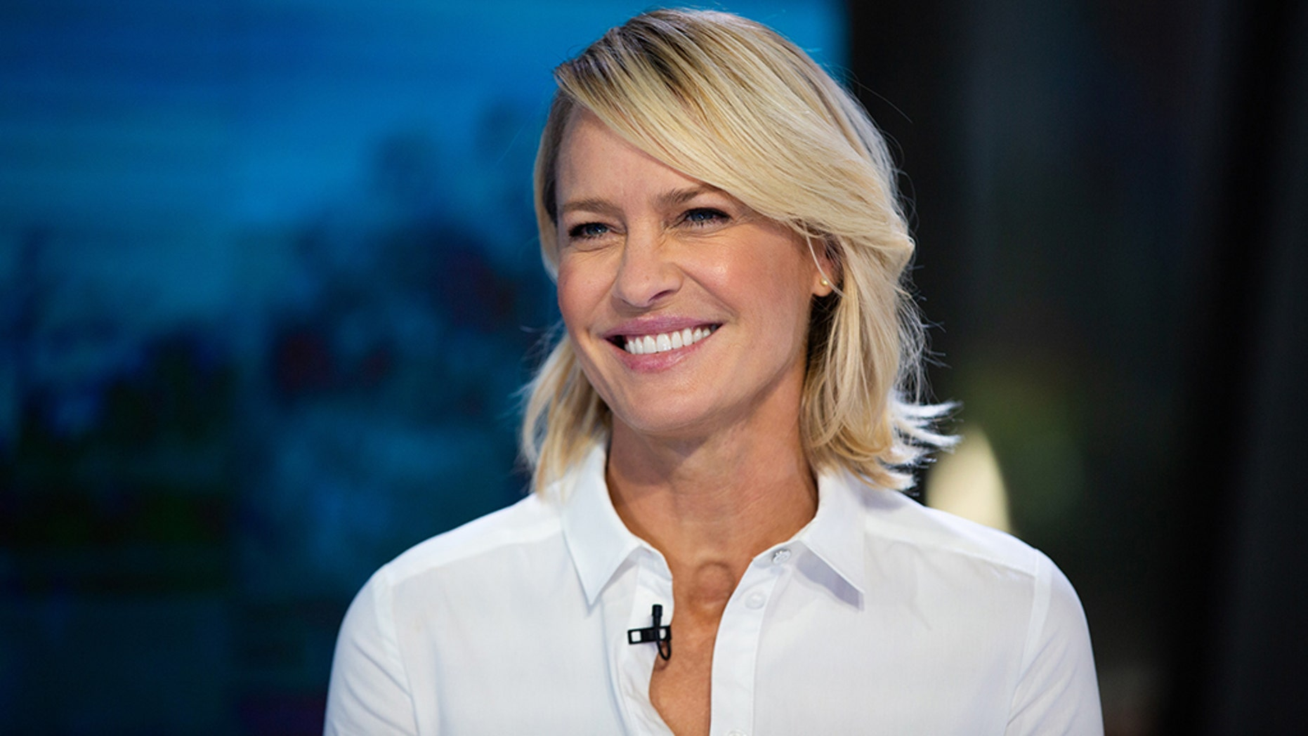 "Robin Wright stars as President Claire Underwood on the Netflix show ""House of Cards."""