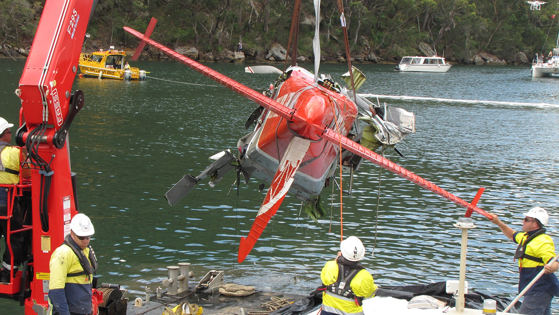 The seaplane crashed north of Sydney on Dec. 31, 2017, killing a British family of 5 and the pilot.