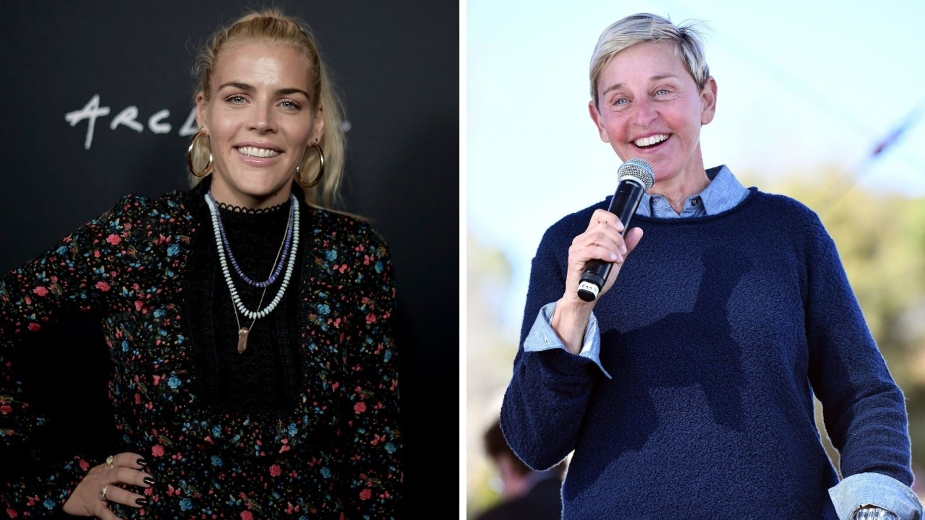 Busy Philipps and Ellen DeGeneres recalled their experiences with sexual abuse.