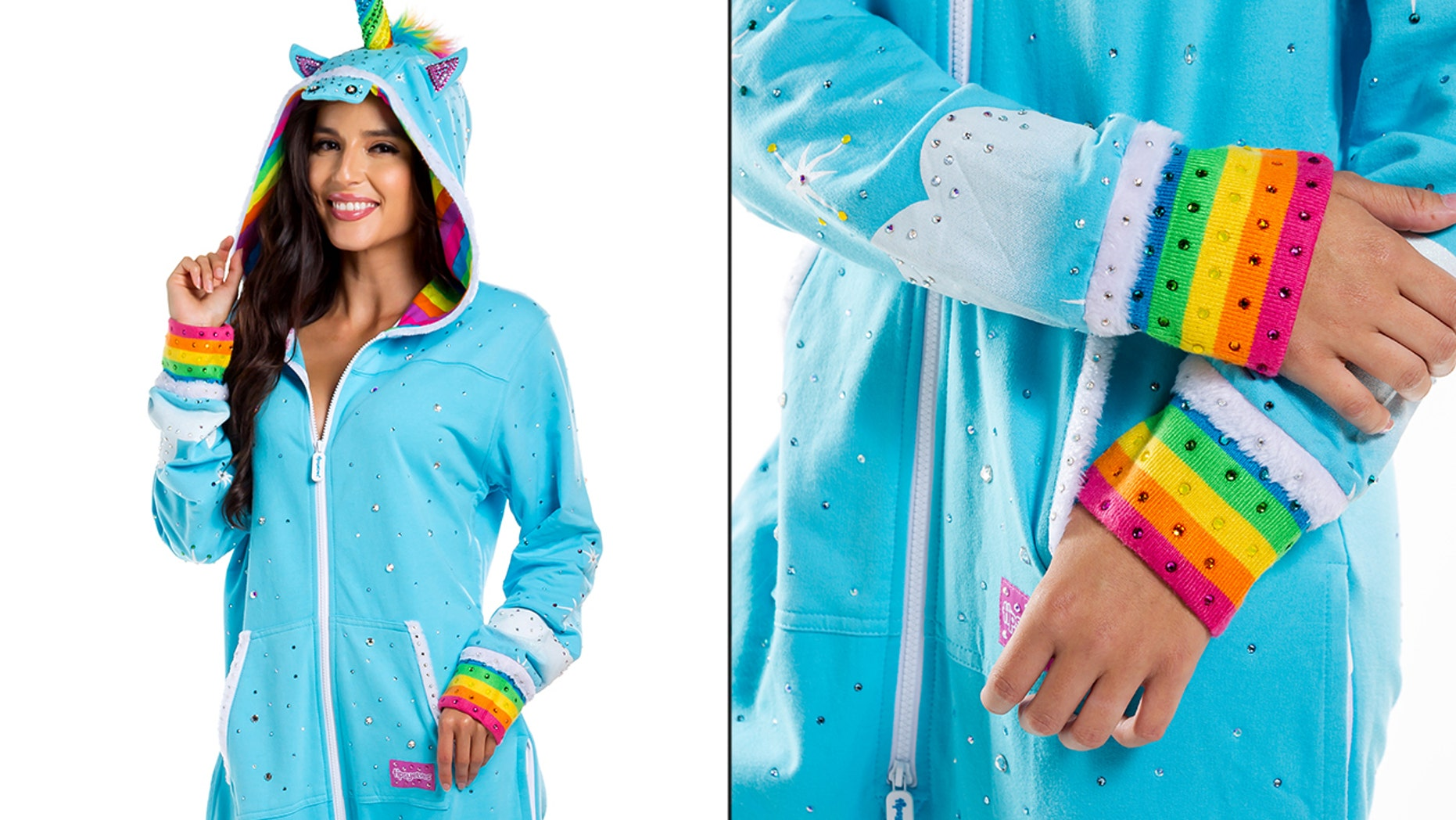 """Tipsy Elves' new — and """"most extra"""" — offering comes studded with 2,400 Swarovski crystals."""