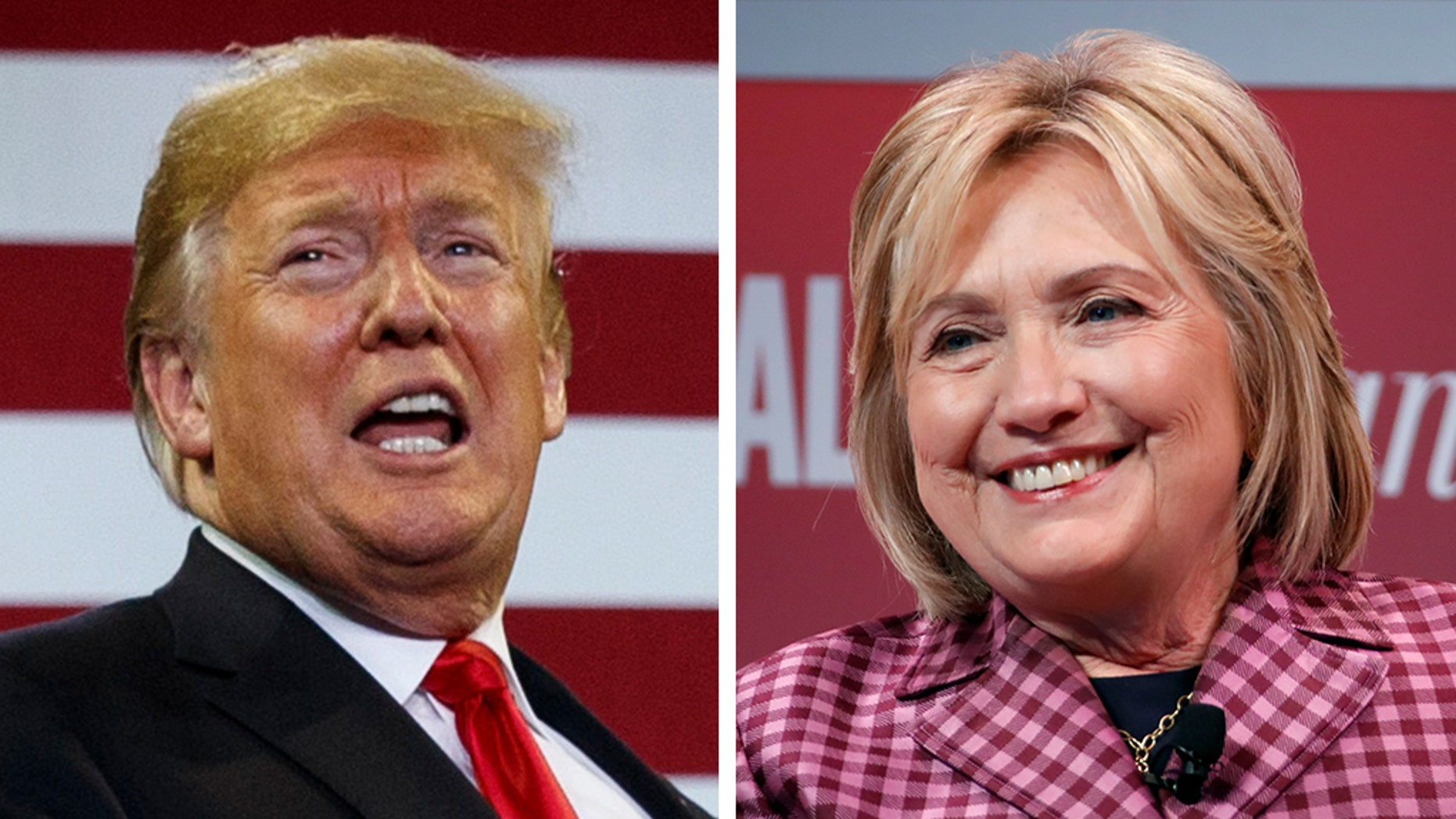 Former presidential candidate Hillary Clinton on Thursday fired back at claims made a day earlier by President Trump during his campaign stop.