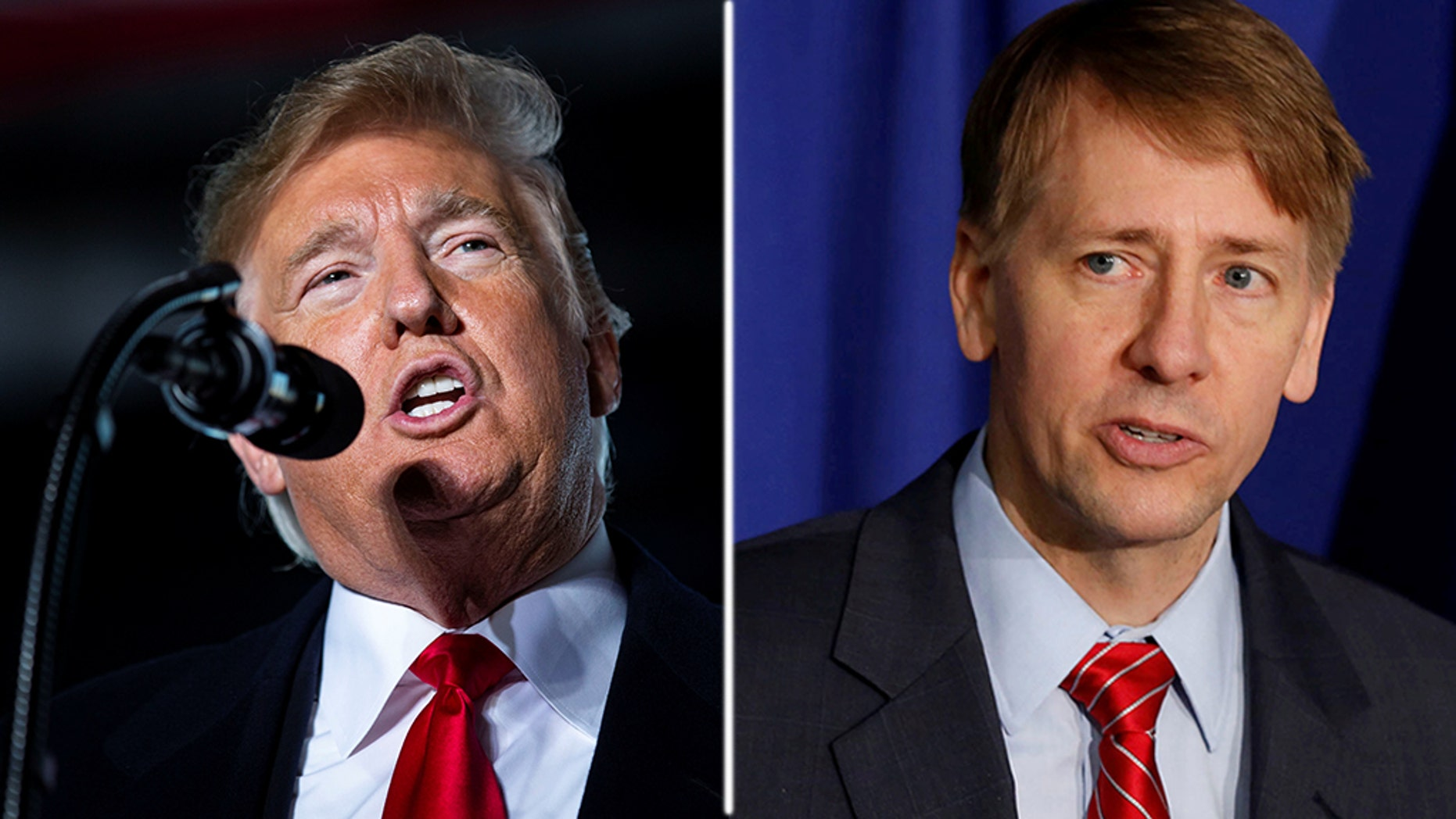 """Trump used Twitter on Tuesday to slam RichardCordray, the Democraticcandidate in Ohio's gubernatorial race, as the""""clone of Pocahontas."""" Pocahantas is his nickname for Massachusetts Sen. Elizabeth Warren, whom he has derided over her claims of a Native American heritage."""