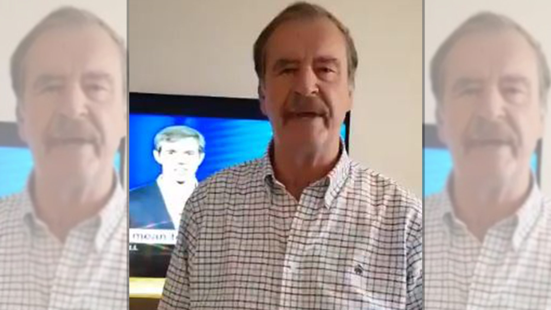 Former Mexican President Vicente Fox endorsed Beto O'Rourke in the Texas Senate race in a Twitter video on Thursday.