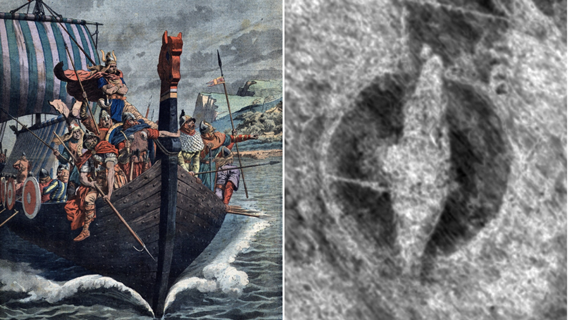 Viking ship burial discovered in Norway just 50cm underground