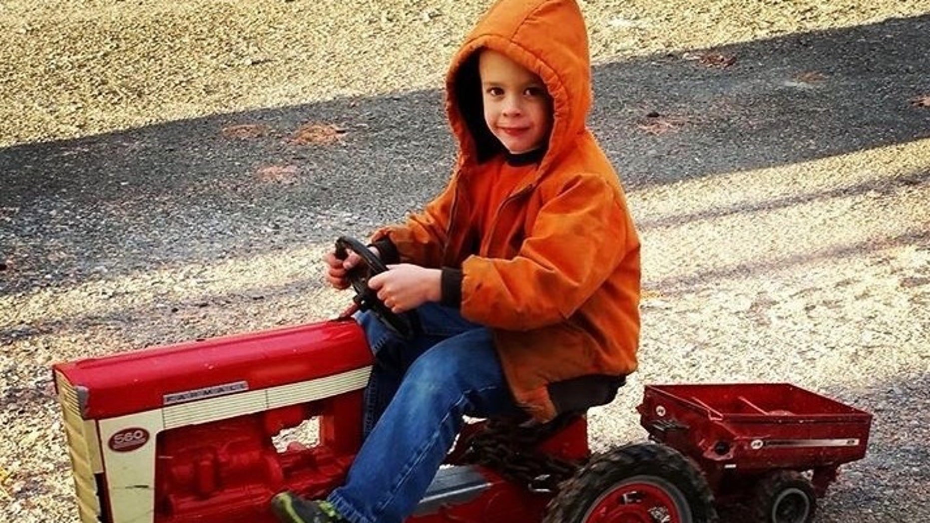 Wellington Shaffer, who celebrated his birthday just two days before Saturday's tragic accident, was pulled from the bottom of the trailer and flown to Geisinger Medical Center.