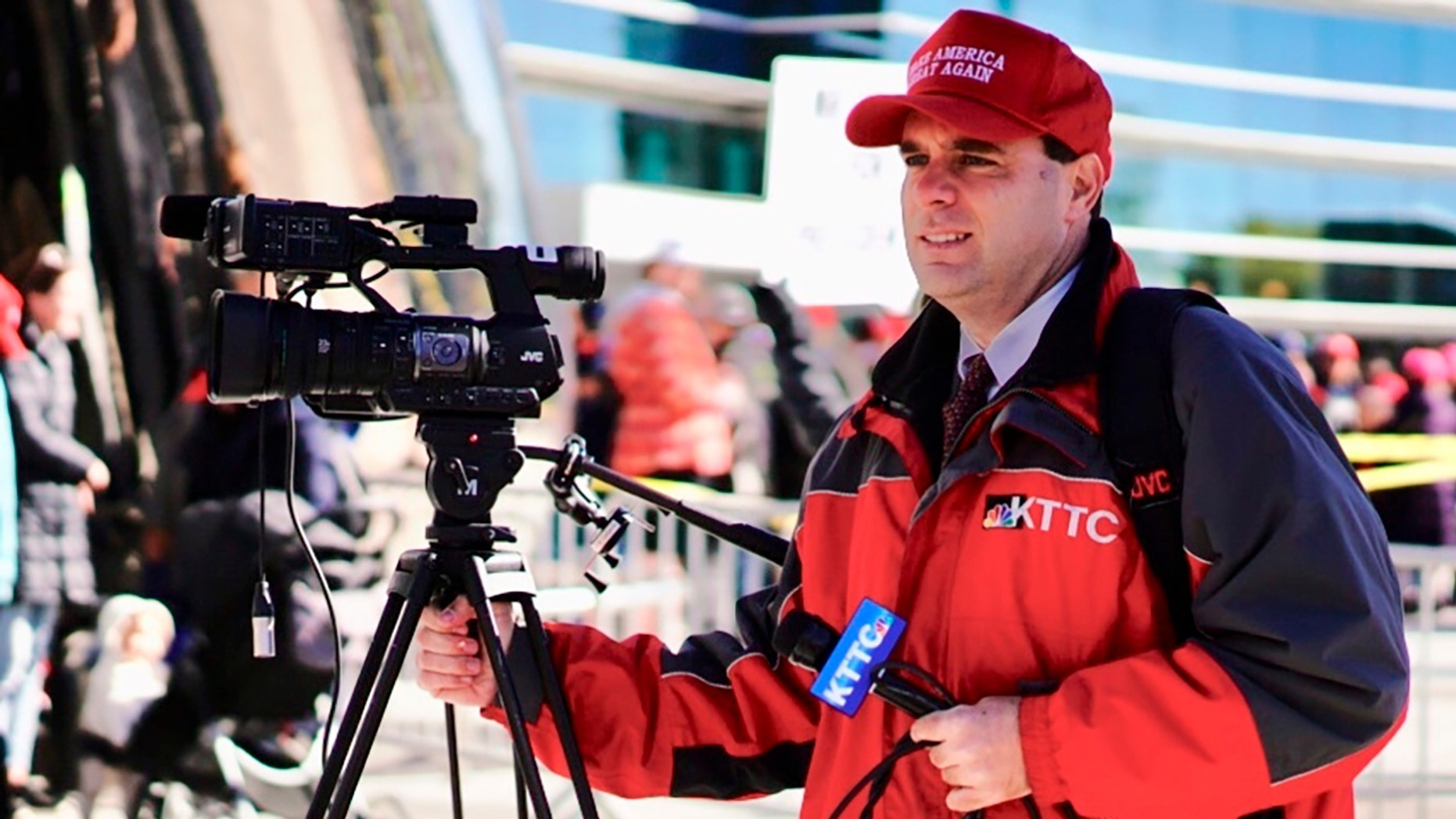 Minnesota TV Reporter Fired for Wearing Trump Hat at Rally