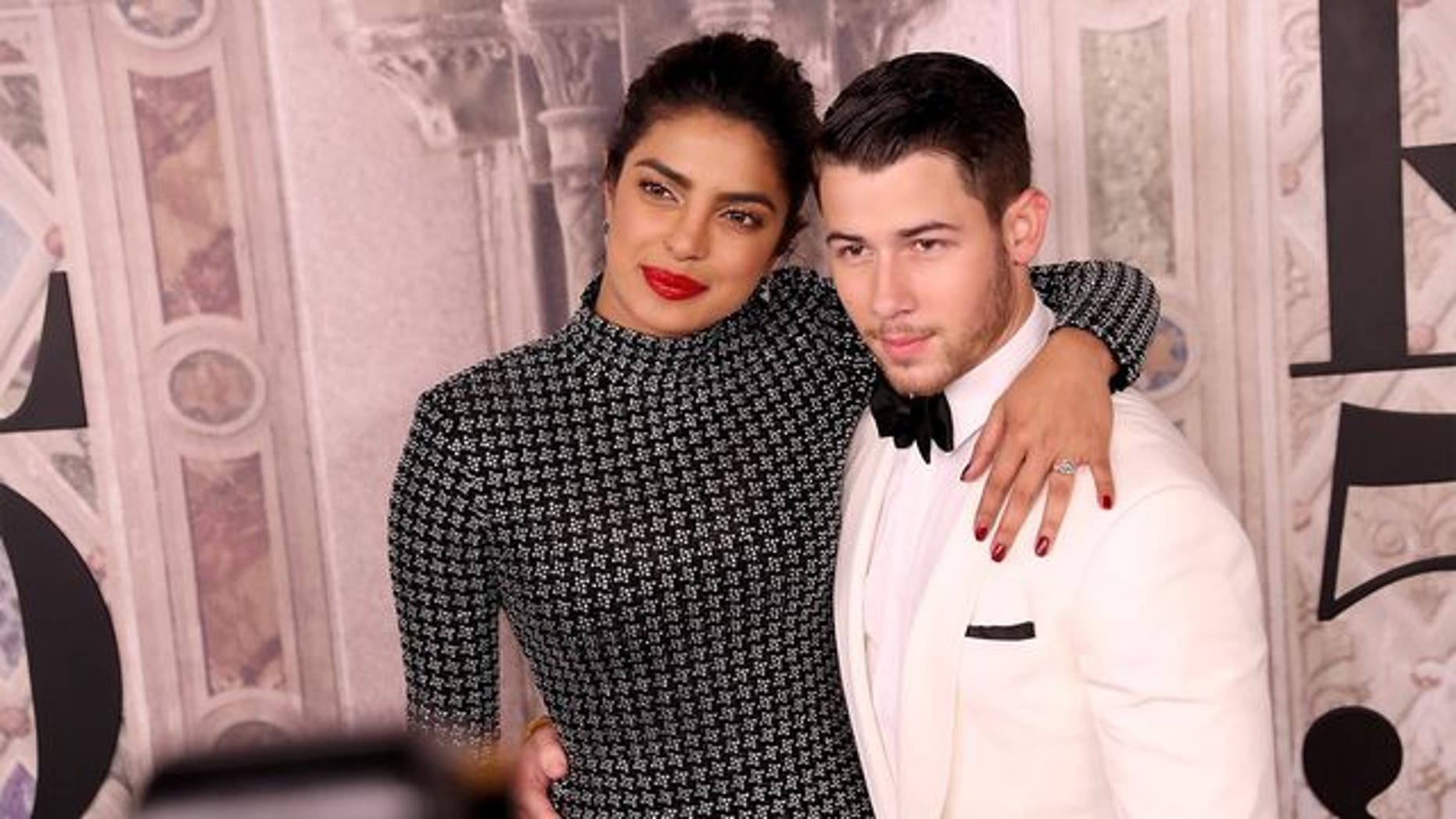 Nick Jonas andPriyanka Chopra marry in a lavish Indian ceremony.