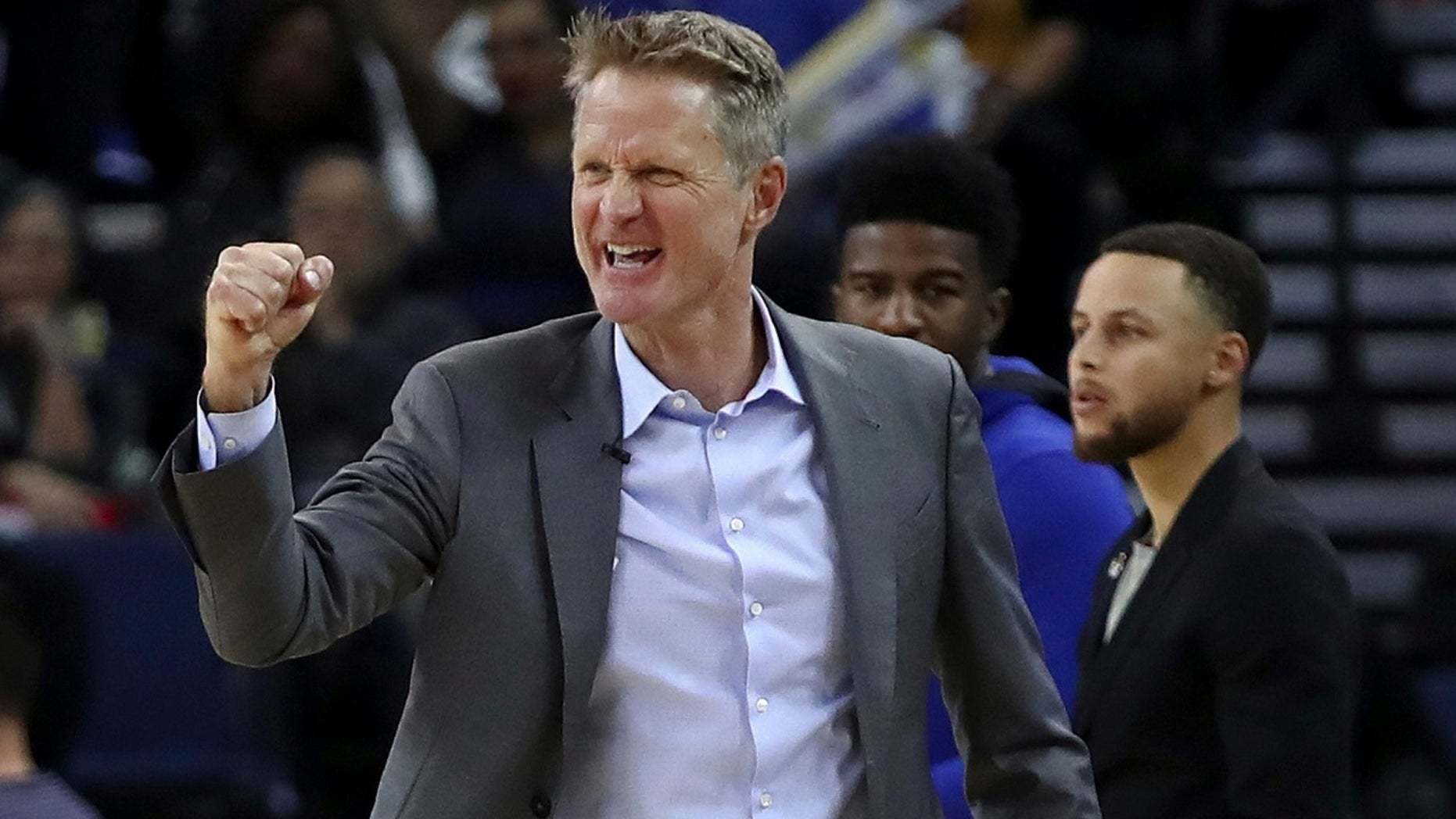 Golden State Warriors head coach Steve Kerr said he has mixed feelings on military displays before NBA games.