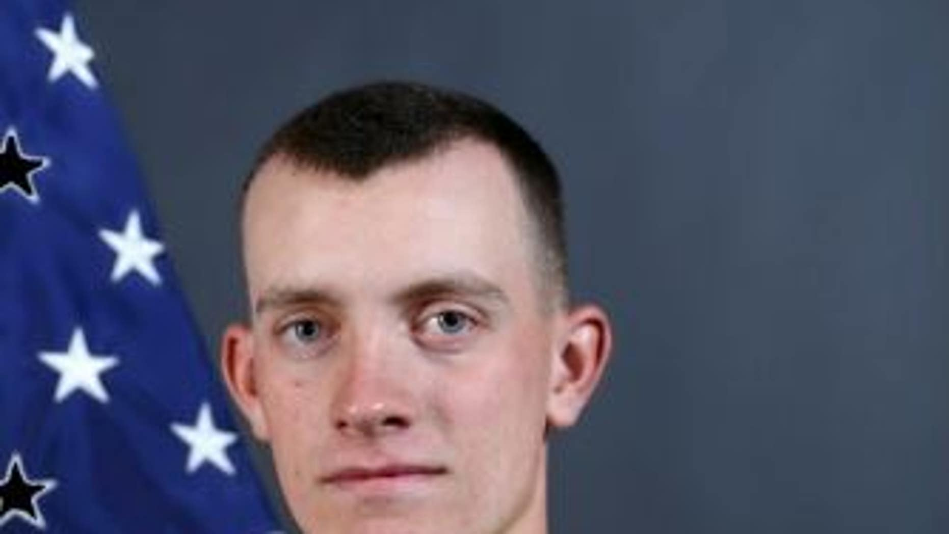 Pfc. Matthew Cox, 19, died Tuesday when strong currents overpowered him while he was swimming at a beach, officials said.