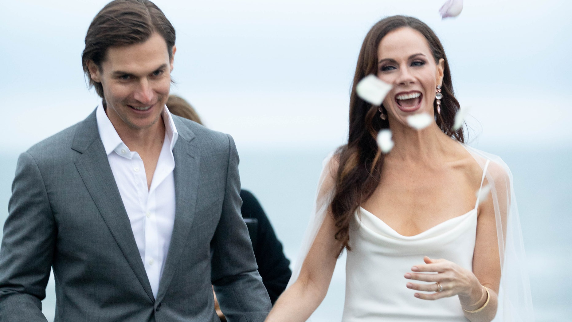 See pictures from former first daughter Barbara Bush's wedding