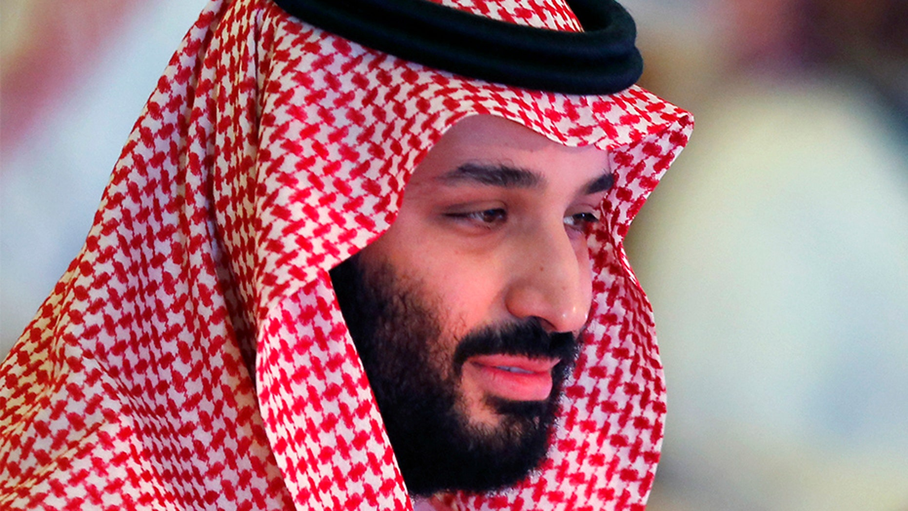 Saudi Crown Prince Mohammed bin Salman spoke Wednesday at the Future Investment Initiative conference, in Riyadh, Saudi Arabia.