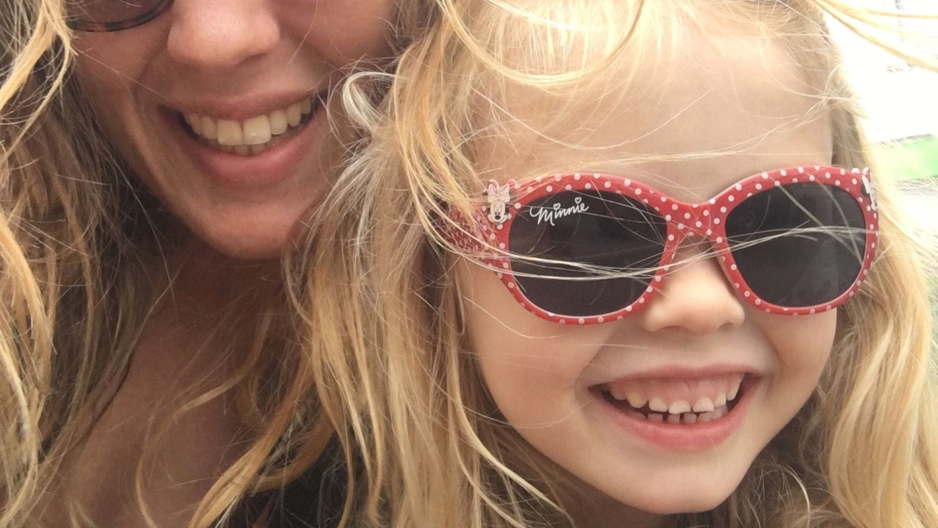 Coco Bradford, 6, who died from sepsis at the Royal Cornwall Hospital on July 31, 2017, is pictured with her mother, Rachel Bradford.