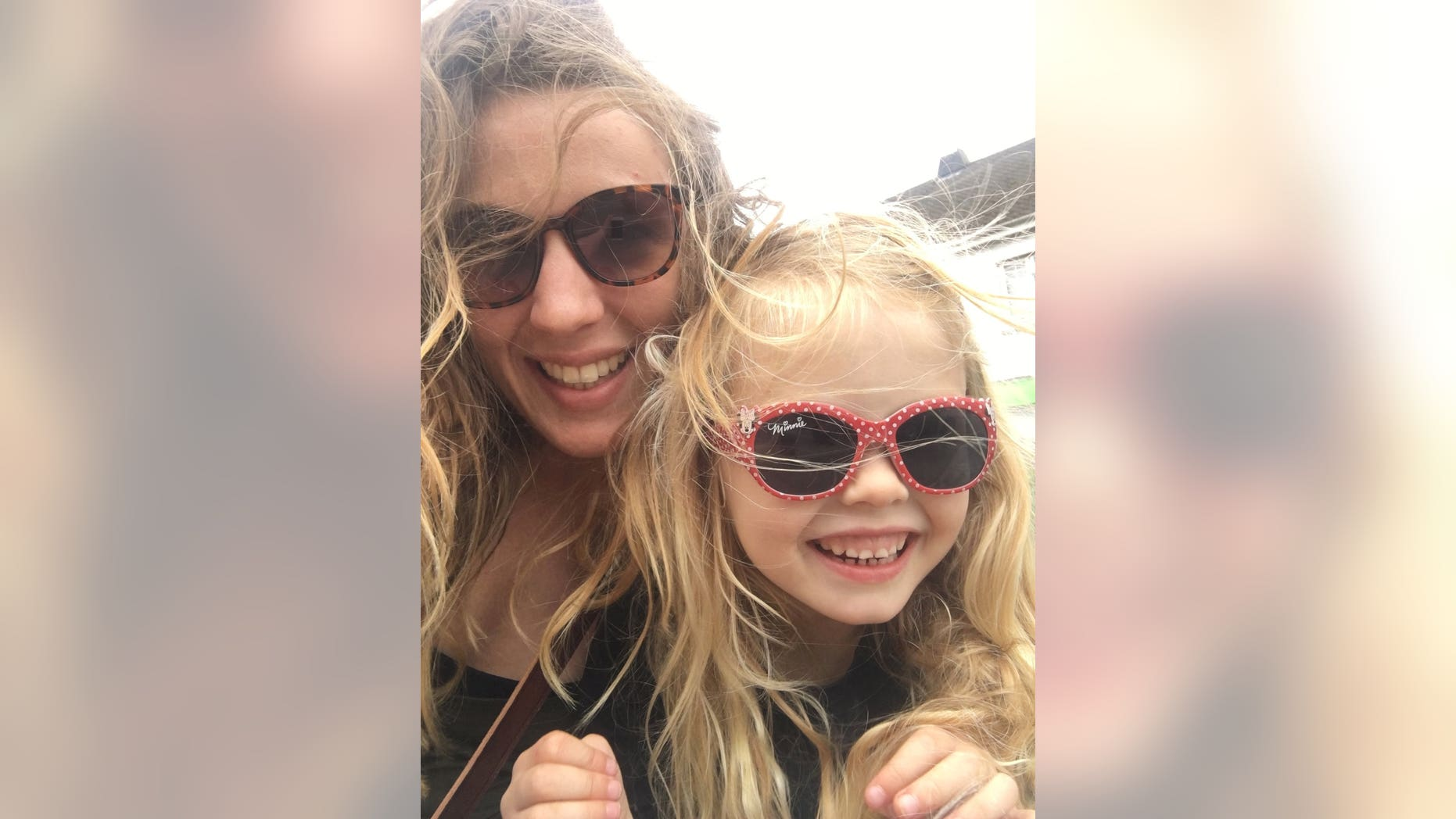 Coco Bradford, 6, who died from sepsis at the Royal Cornwall Hospital on July 31, 2017, is pictured with her mother, Rachel Bradford.&nbsp
