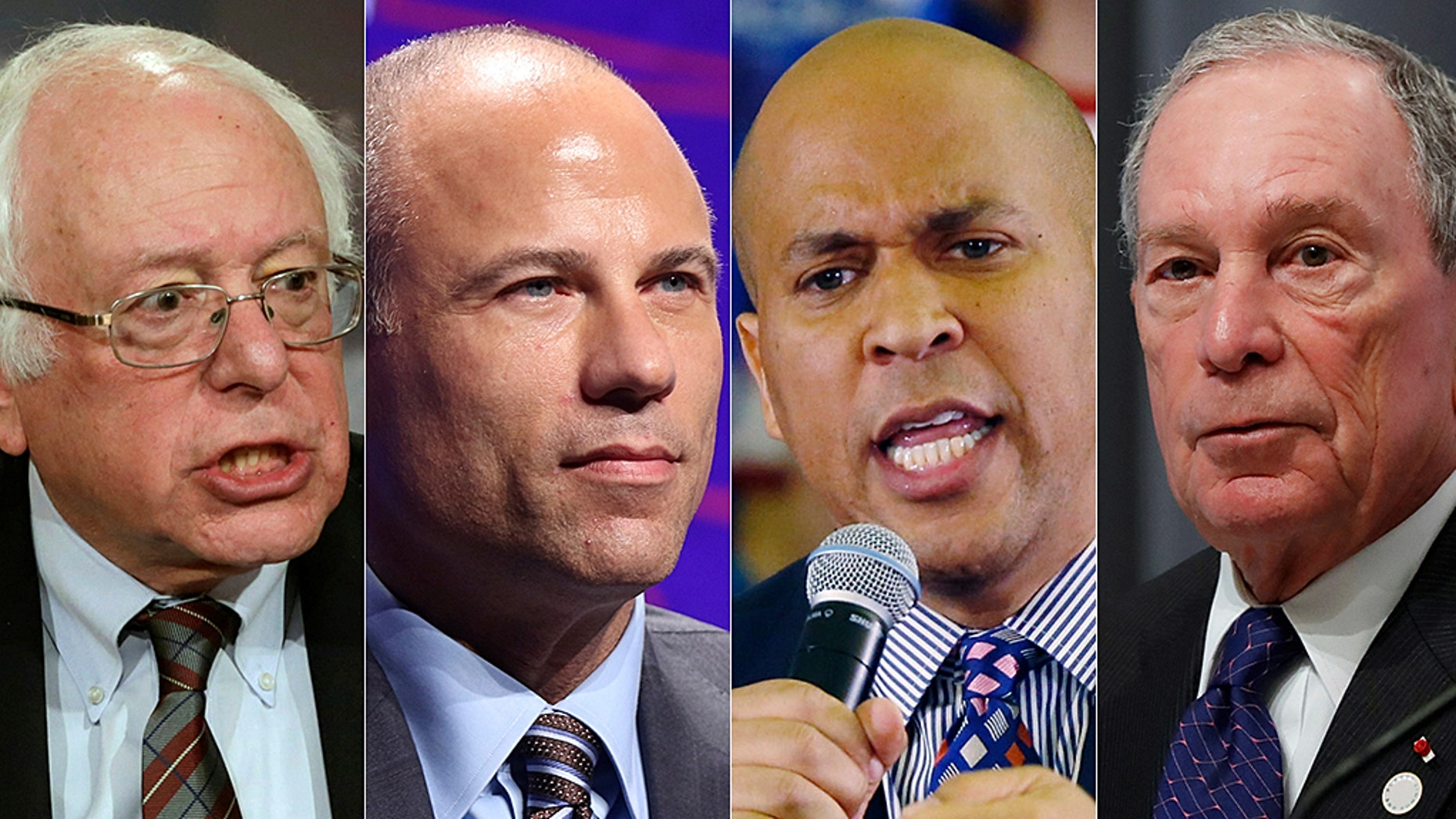 Sen. Bernie Sanders, Michael Avenatti, Sen. Cory Booker and Michael Bloomberg are among those visiting early-primary states.