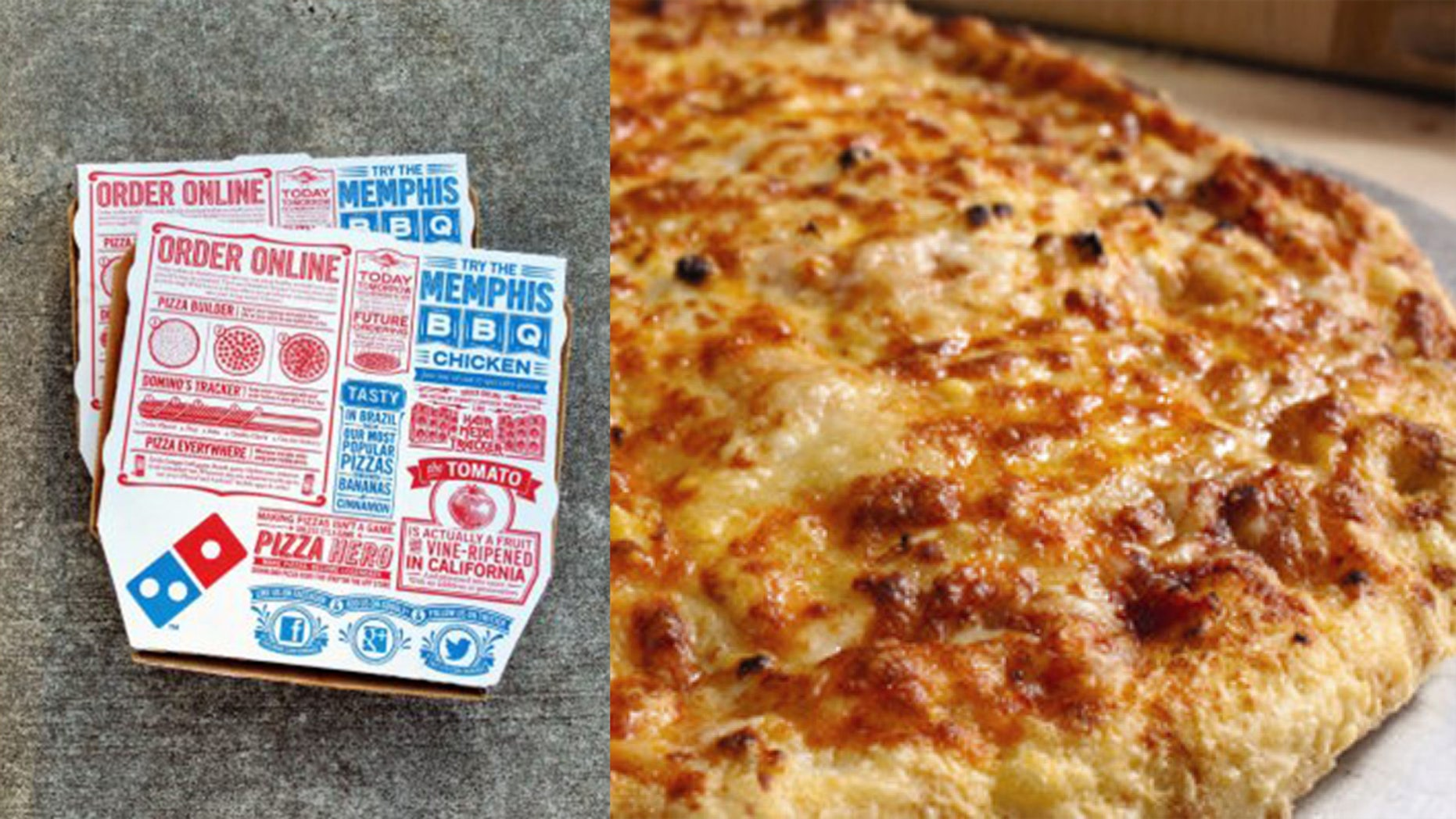 Family Holds Sit In At Dominos To Protest Stone Cold Food Fox News