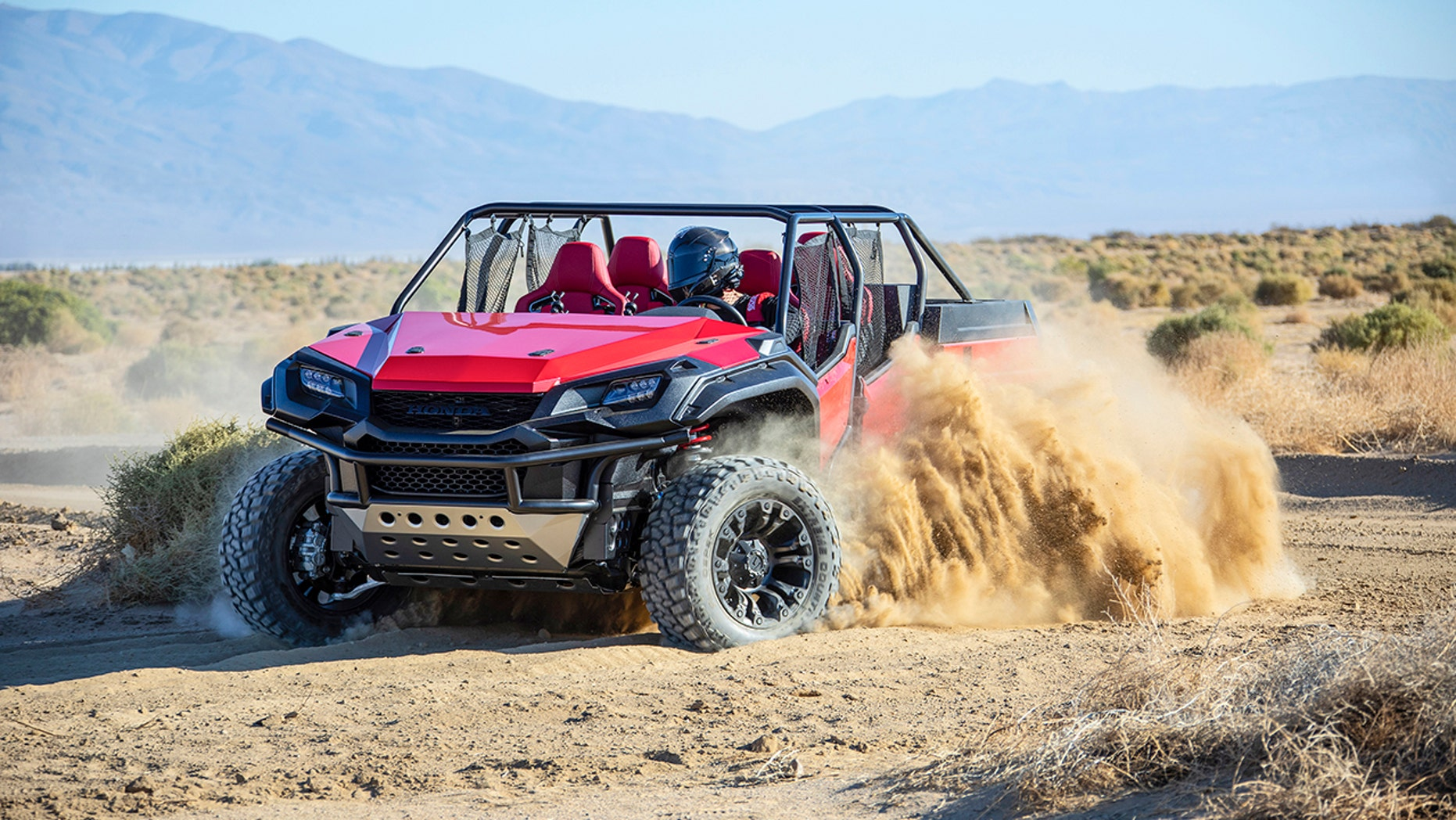 Honda's Rugged Open Air Vehicle concept is an off-road dream machine