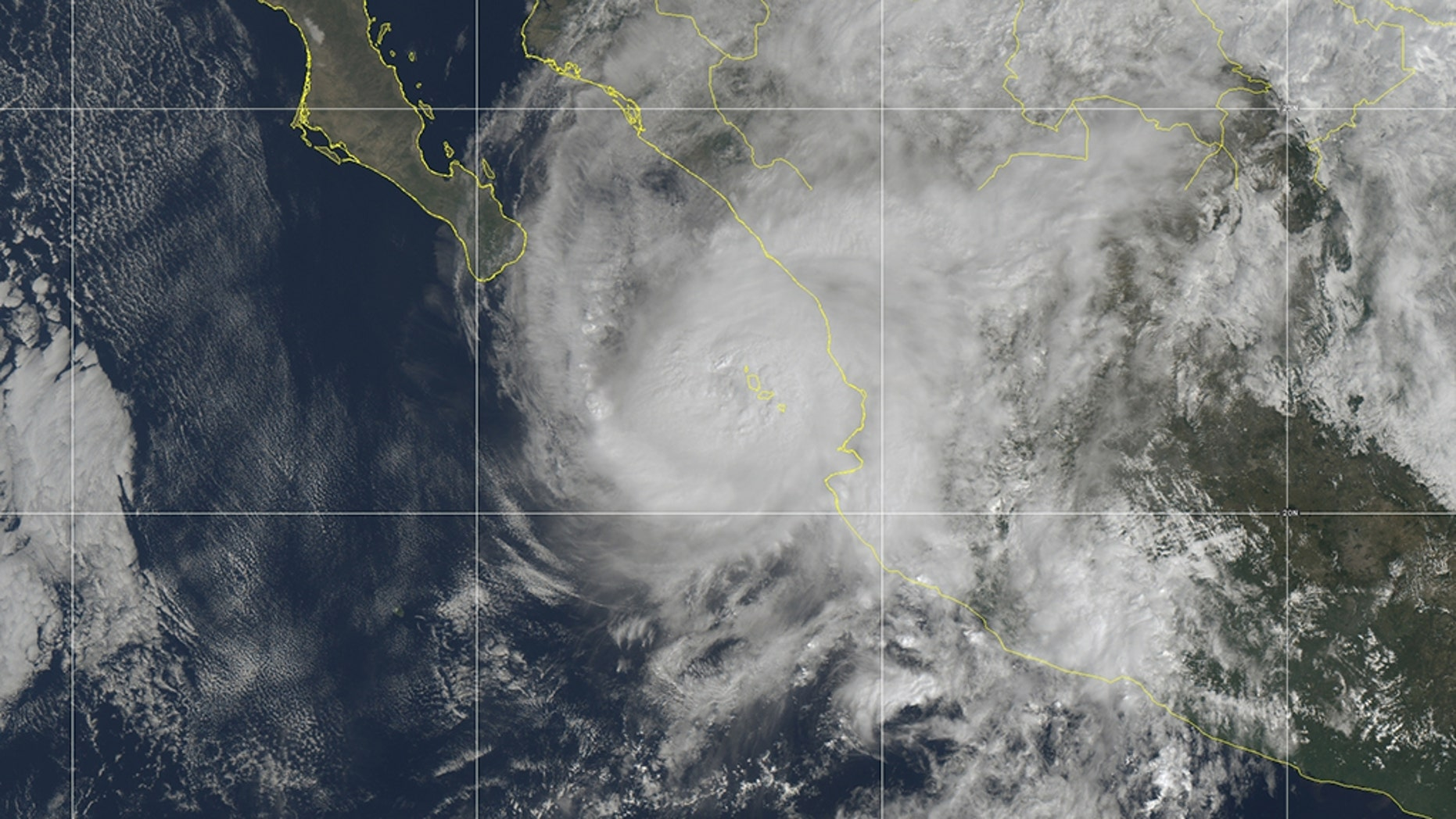 Hurricane Willa is currently a Category 3 storm.