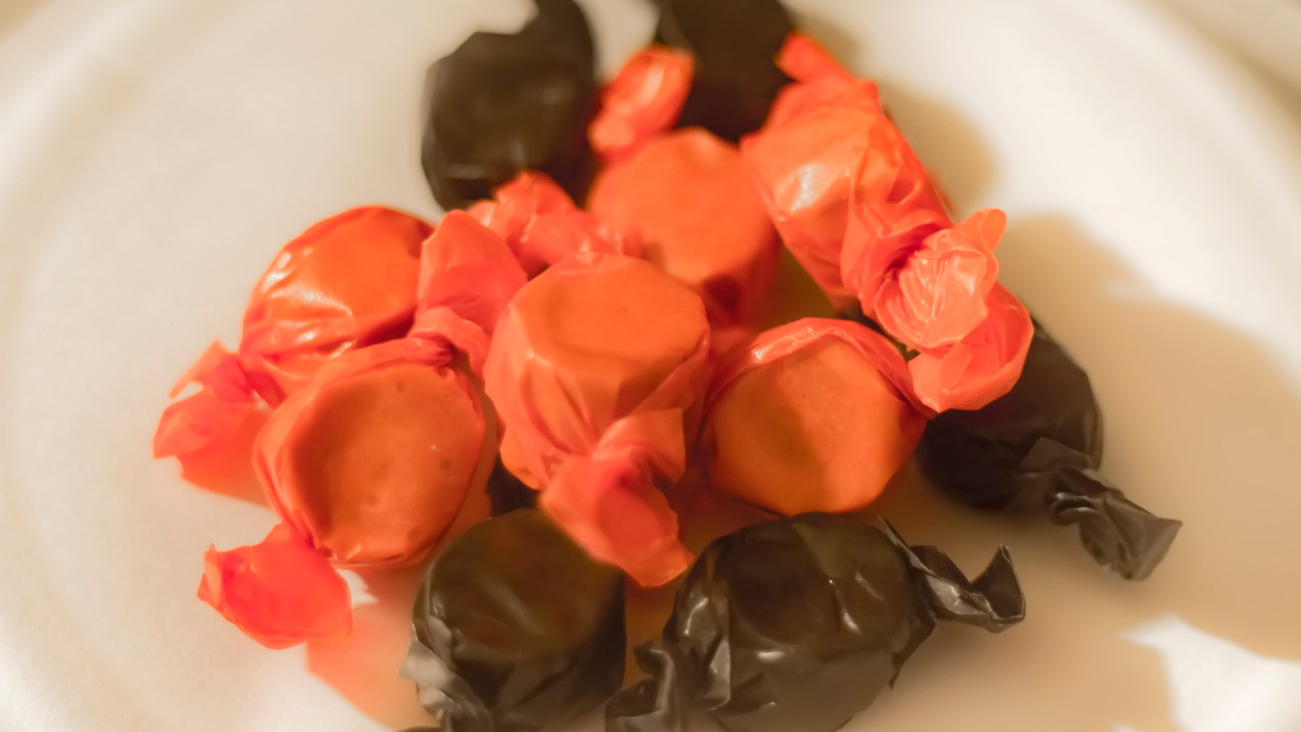 """The Halloween candy is allegedly soloathed by officials, that they felt compelled to issue aplayful """"ban"""" on its distribution."""