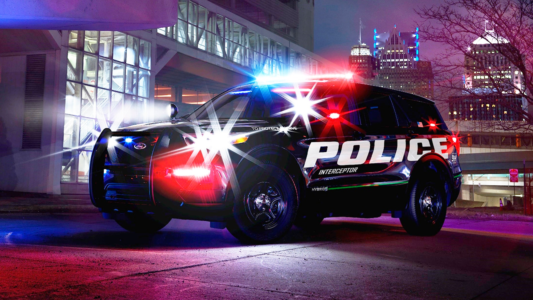 The 2020 Ford Explorer Based Police Interceptor Utility Is Usa S