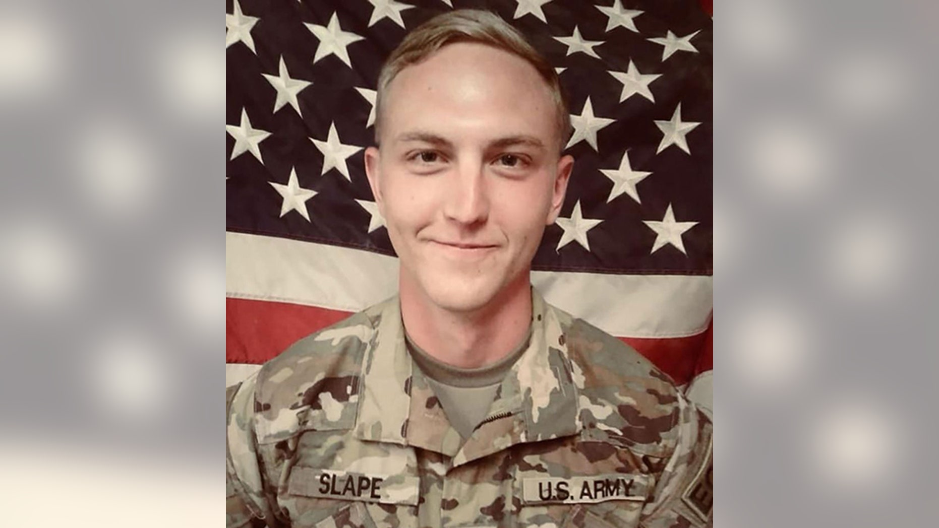 Sgt. James A. Slape was killed Thursday as he worked to clear an area of explosives in Afghanistan.