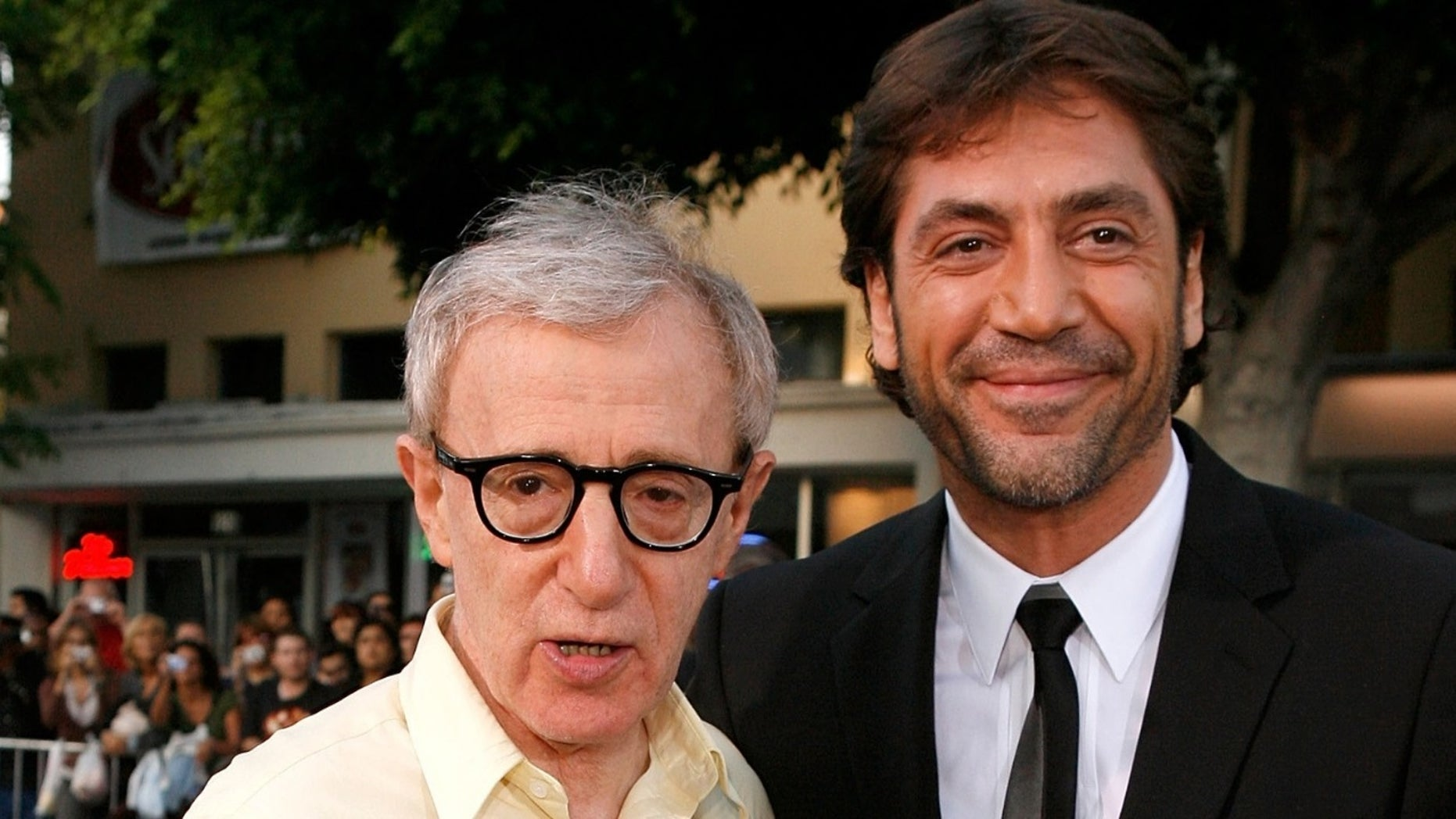 "Javier Bardem called Woody Allen ""a genius"" and said he would love to work with him again."
