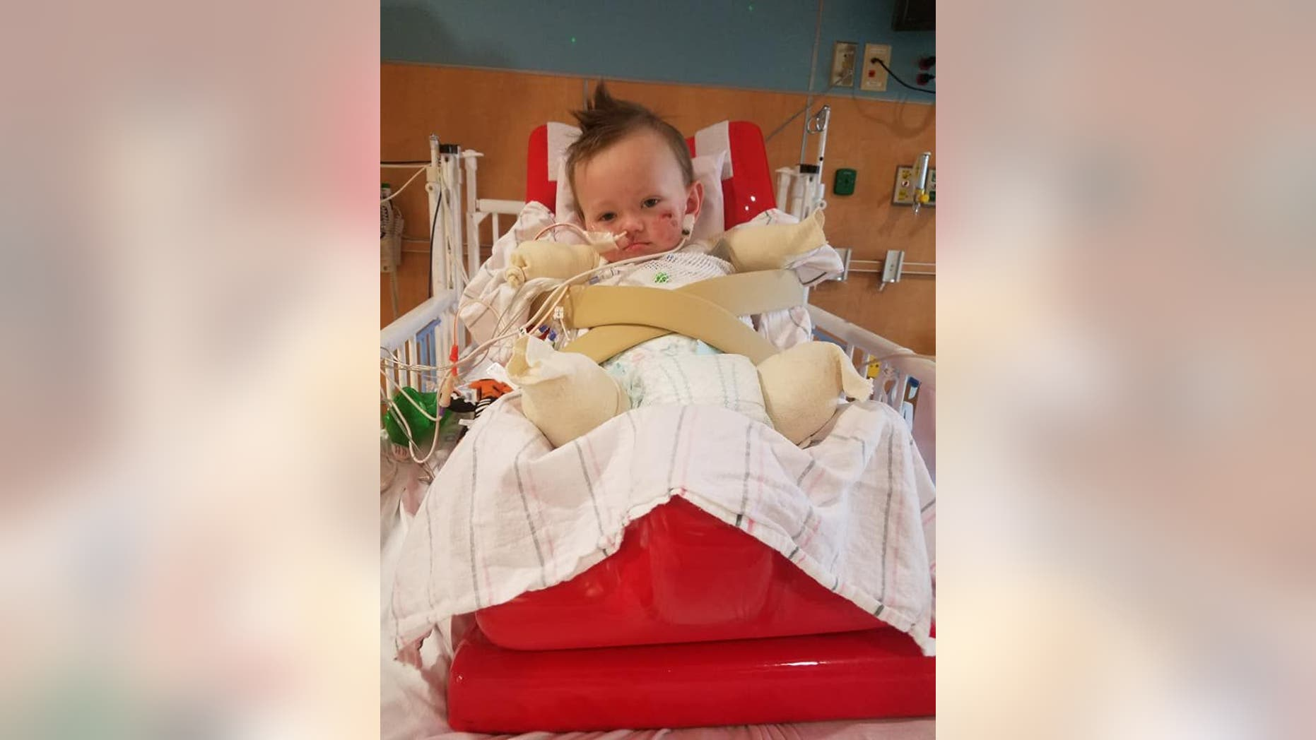 Jeremiah, 2, lost the lower half of all four limbs after he contracted a mysterious life-threatening bacterial infection.