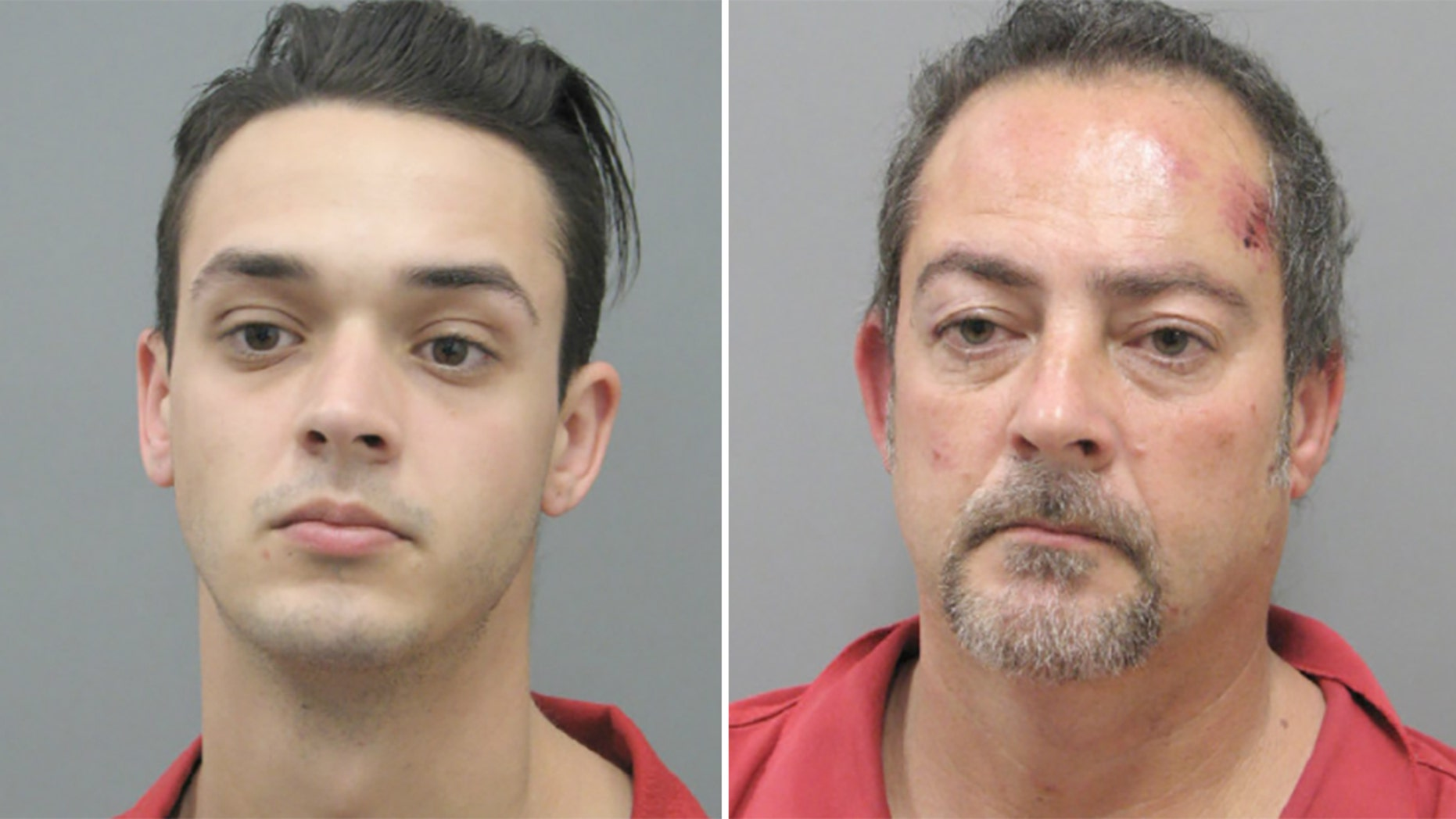 Jessy James, 24, and his father Jeffrey James, 53, were sentenced to federal prison Friday for a series of armed robberies near Las Vegas last year.