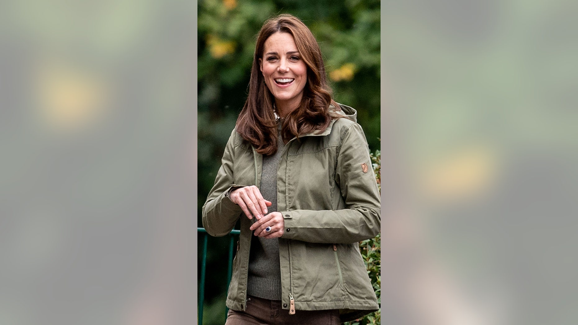 Catherine, Duchess of Cambridge during a visit to Sayers Croft Forest School and Wildlife Garden on Oct. 2, 2018 in London.