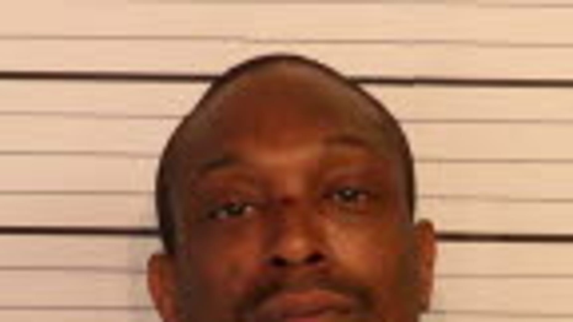 Santrez Traylor, 34, is accused of beating his girlfriend with a brick and repeatedly running over her body.