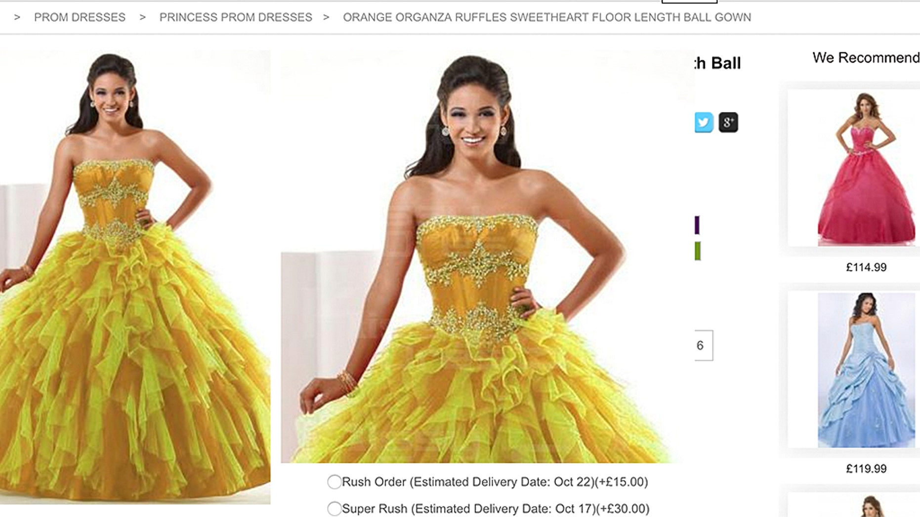 """A group of bridesmaids have slammed a bride for asking them to wear a """"hideous"""" dress."""