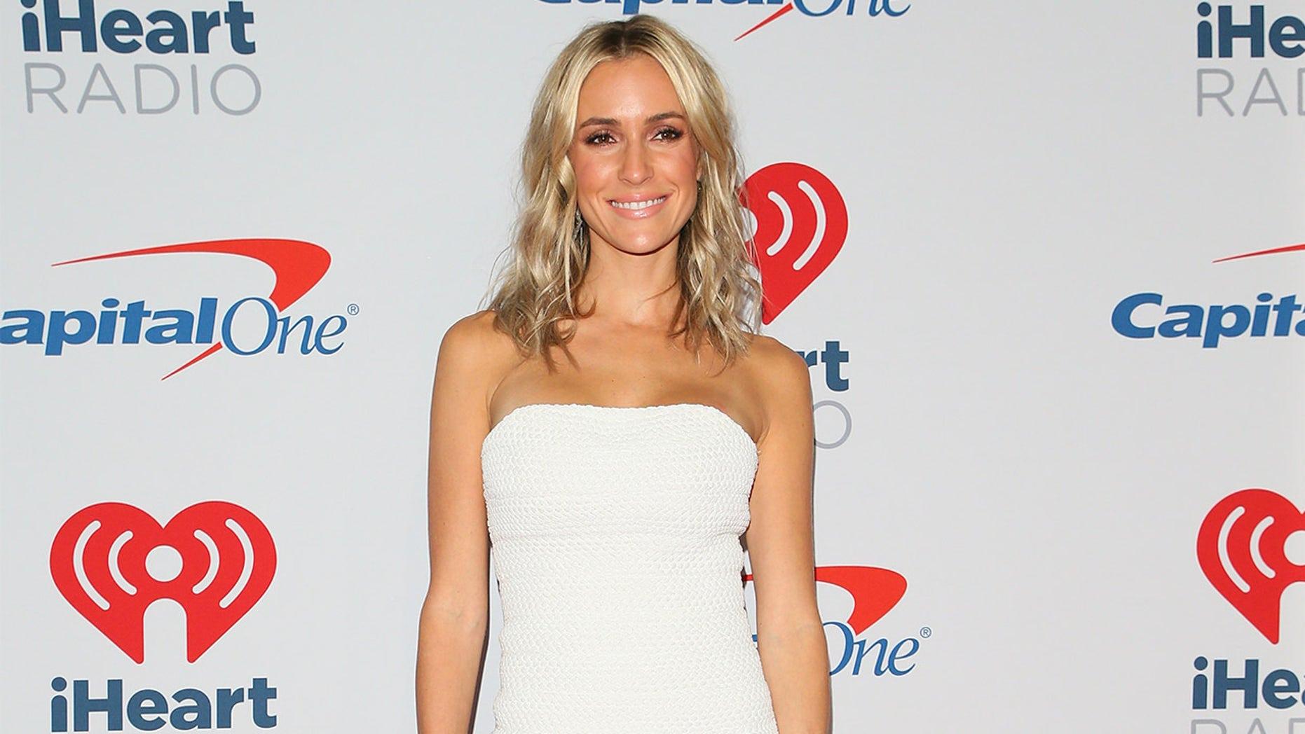 27ea93cadd20 Kristin Cavallari talked to reporters at the iHeartRadio Music Festival in  Las Vegas on Sept.