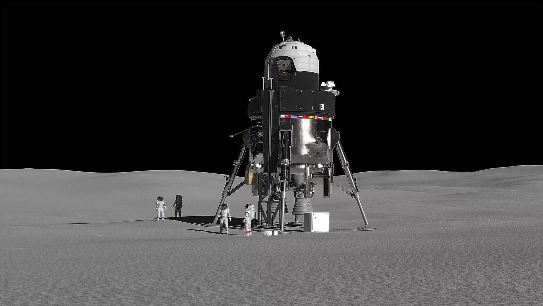 Lockheed Martin unveils lunar lander concept meant send astronauts to the moon