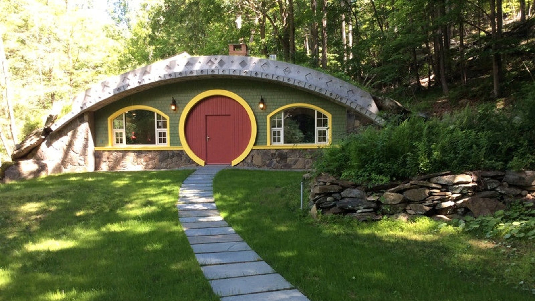 The home is currently on the market for $795,000.
