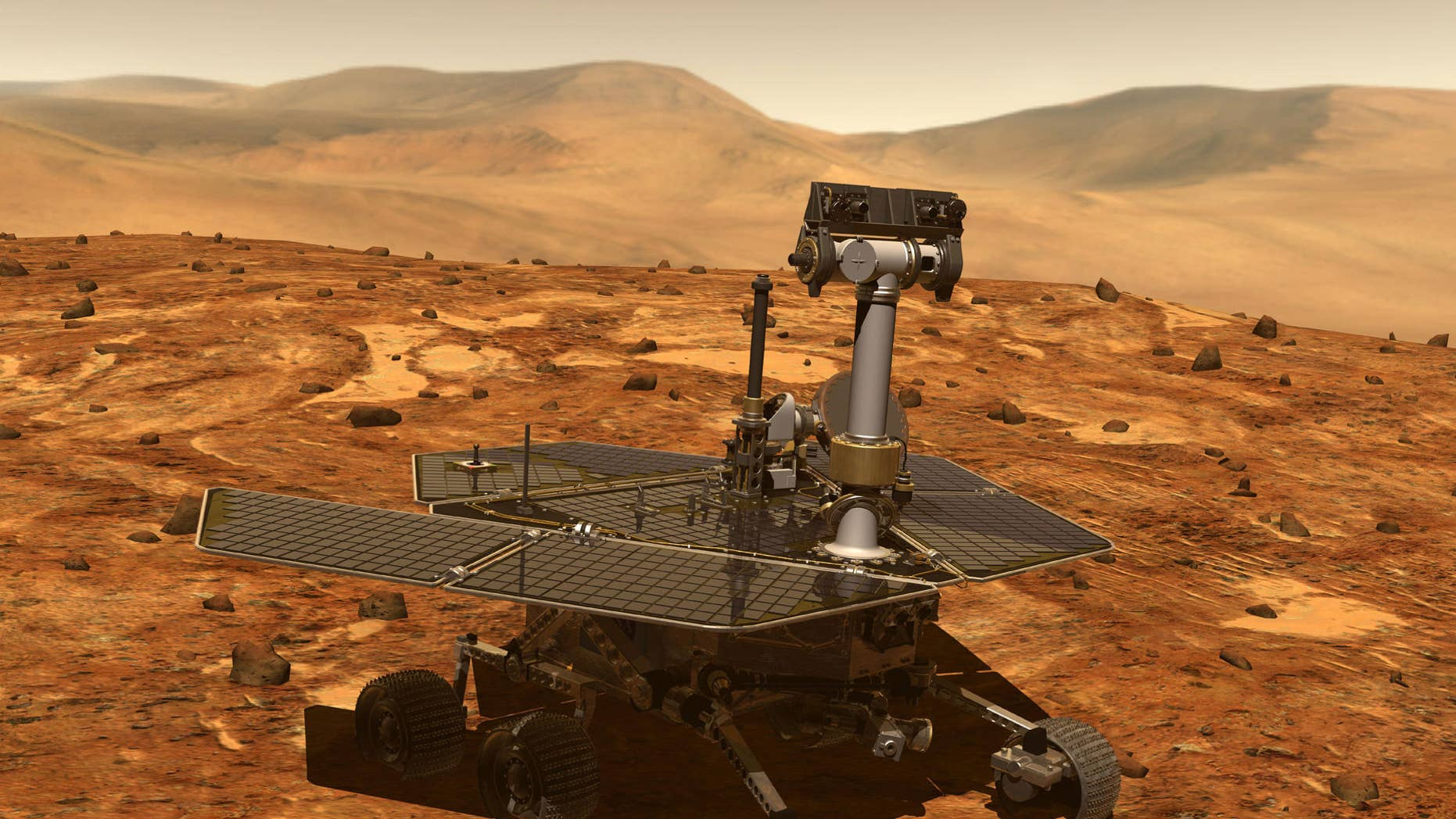 Curiosity snaps a selfie before heading off to new adventures
