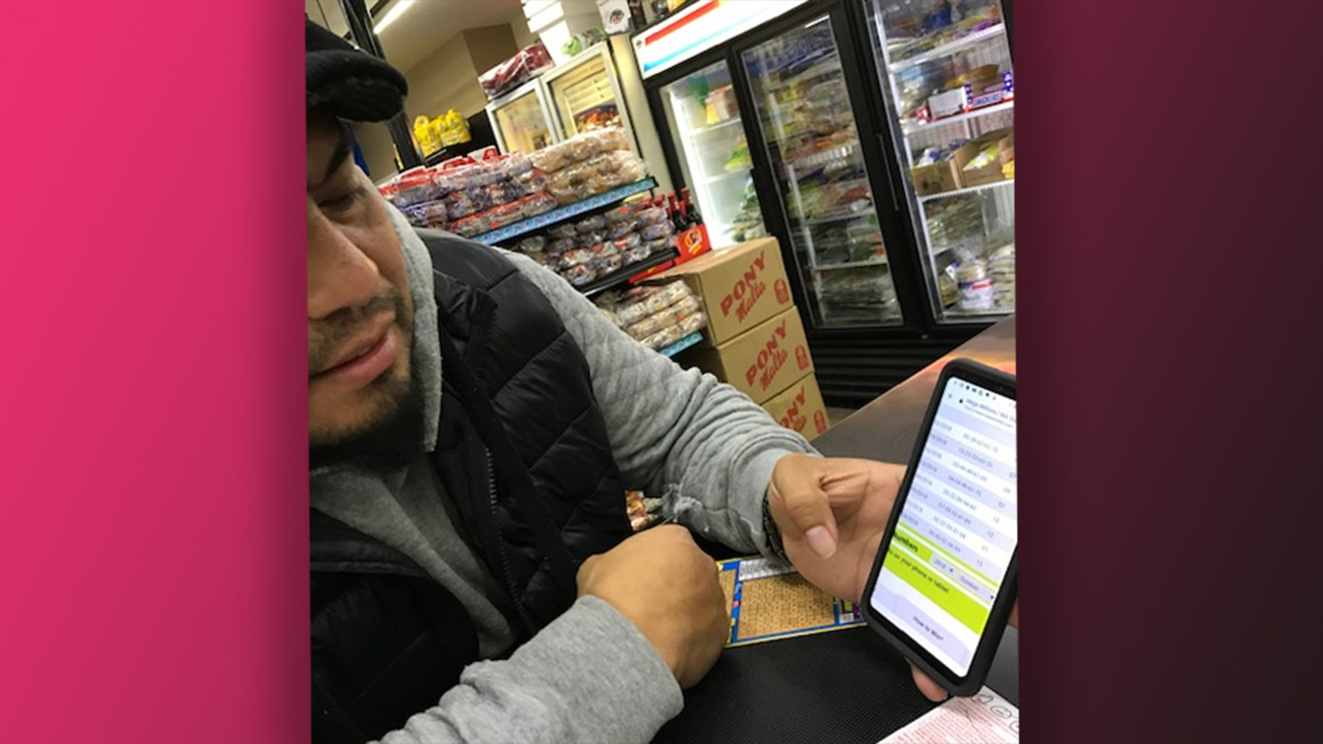 East Boston resident David Aguirre has on some days bought $100 worth of lottery tickets.