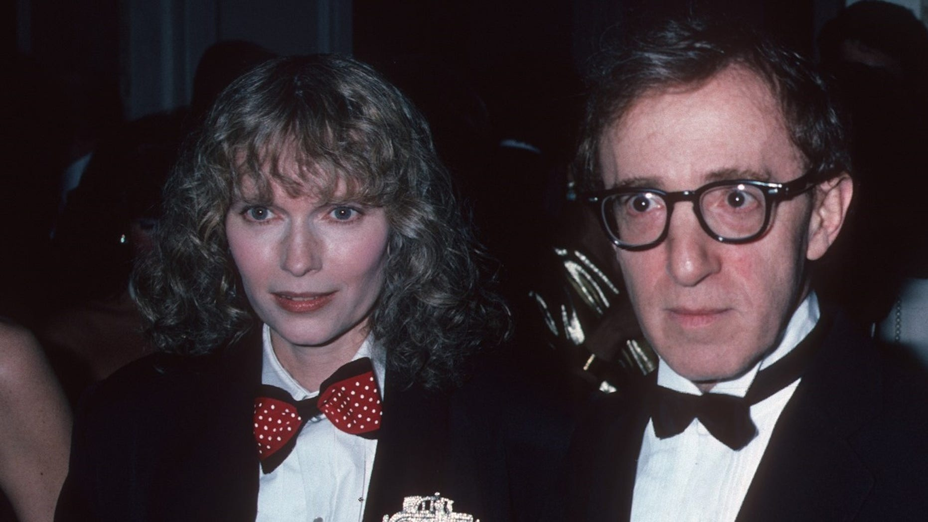 Mia Farrow said she doesn't care about Woody Allen.