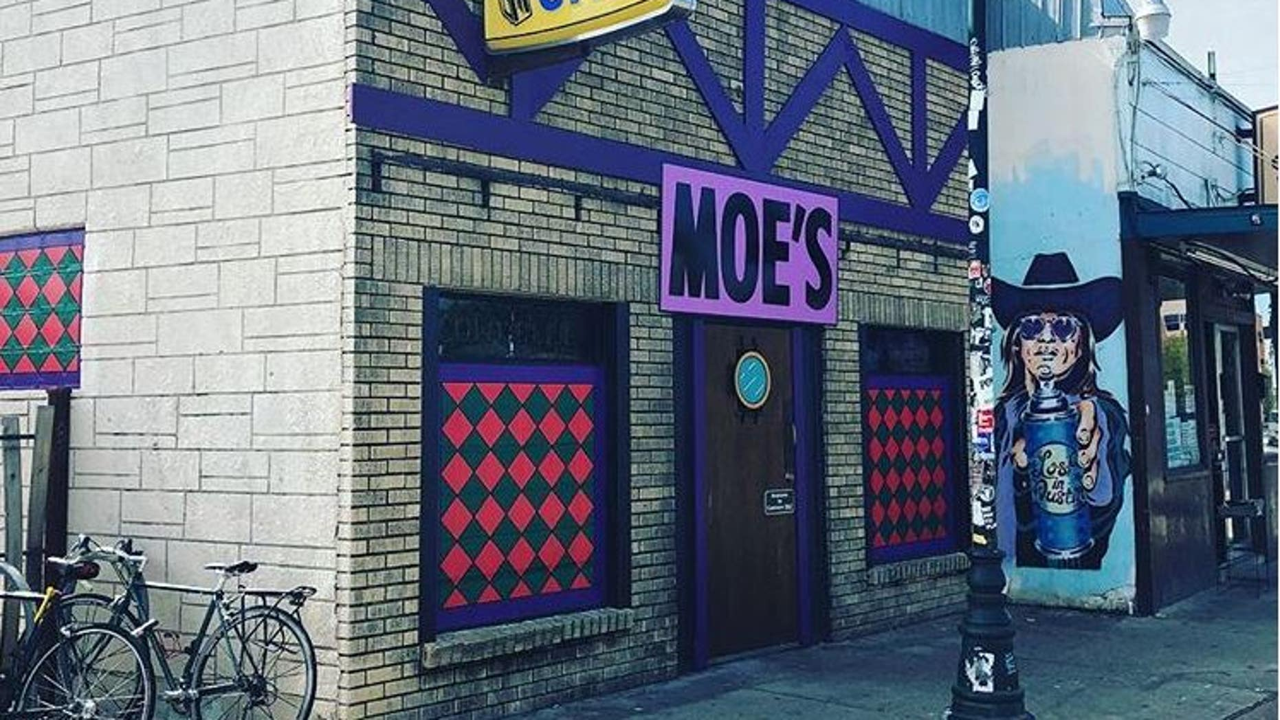 "Nickel City in East Austin, Texas, turned into the famous Moe's Tavern from ""The Simpsons"" for Halloween."
