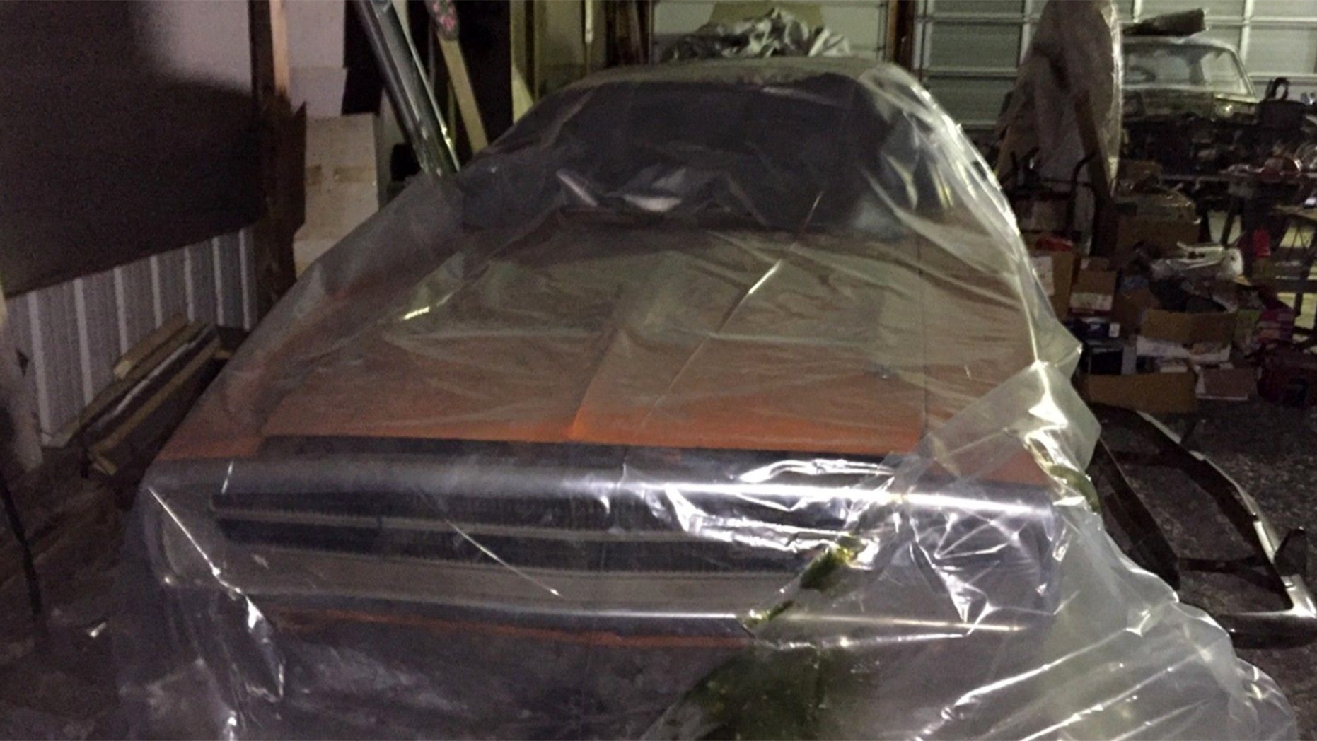 Rare 'Go Mango' 1970 Dodge Challenger 440 six-pack found in barn after owner passed away