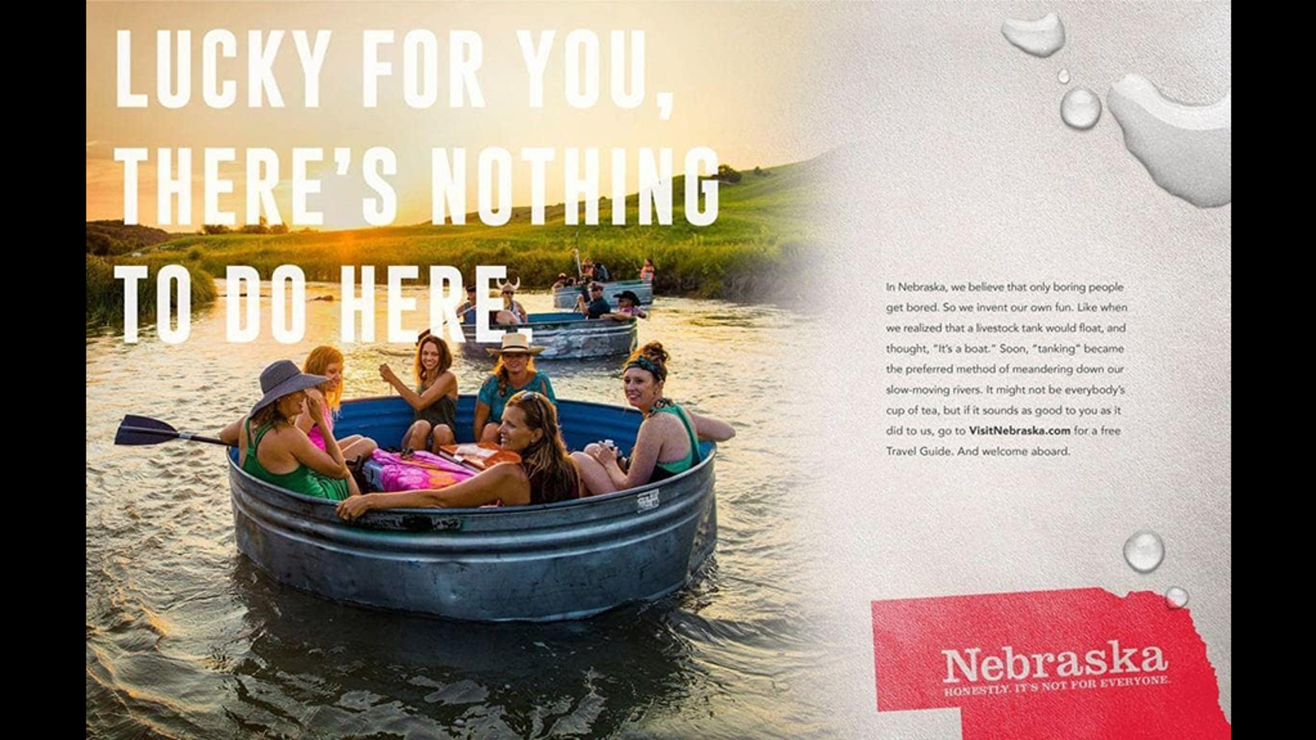 "The old slogan and campaign touting ""Nebraska Nice"" reportedly proved to be a flop."