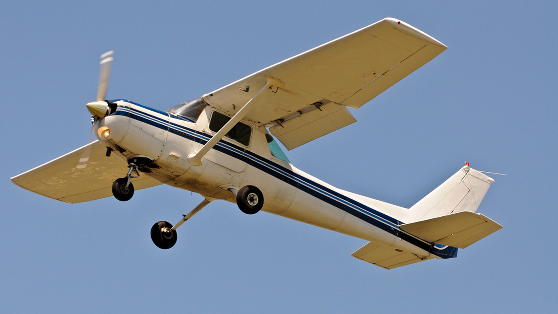 A small plane made an emergency landing on a freeway in California.