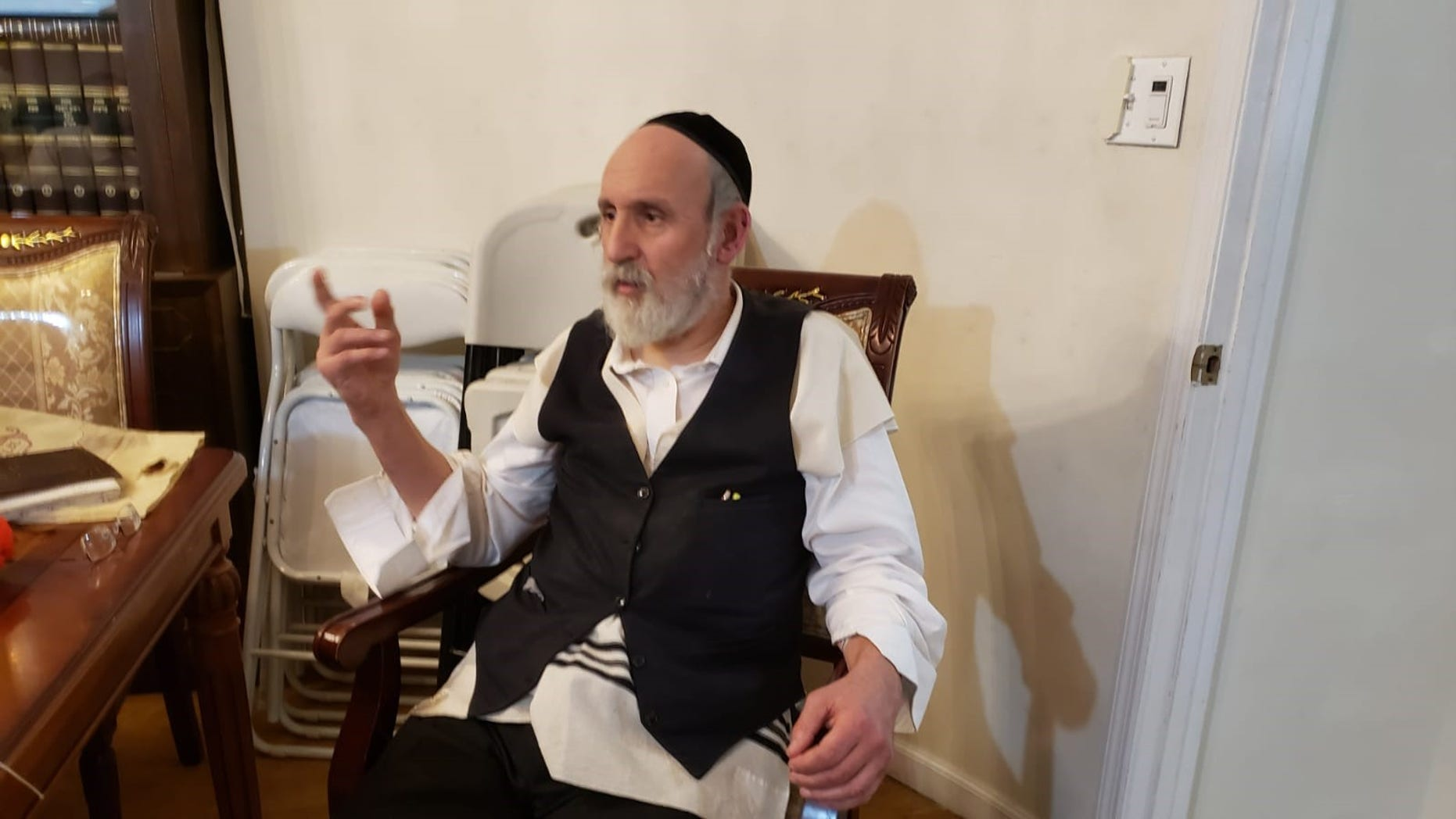 Lipa Schwartz, the victim of the attack, told the news website Boropark24 that he feared for his life.