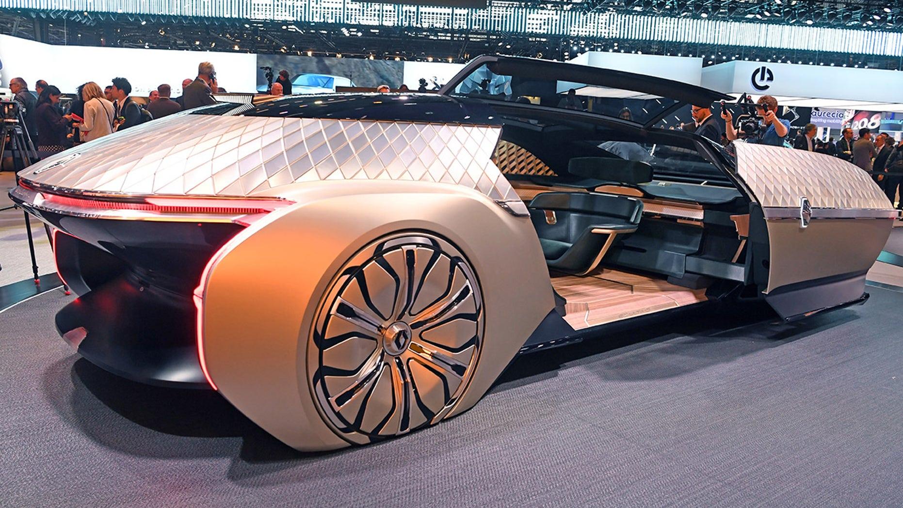 Uber Car Seat >> Renault EZ-Ultimo is an uber-stylish, self-driving car concept | Fox News