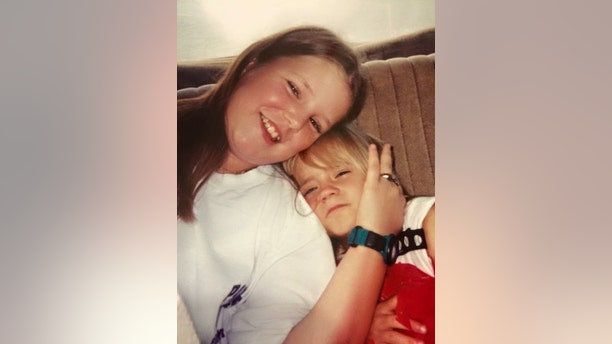 AJ Prince (left) with her younger sister Jessica Chambers.