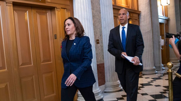 """Sen. Kamala Harris is proposing a new tax credit. Sen. Cory Booker proposes """"opportunity accounts."""""""