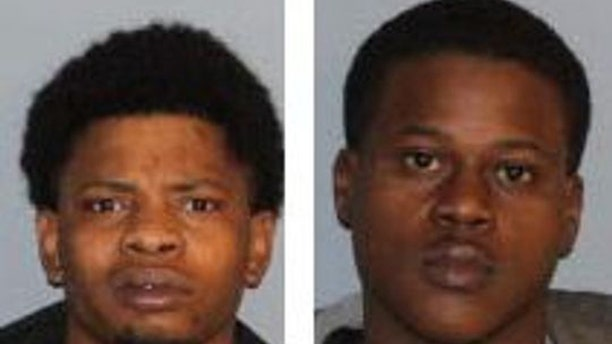 Earl Brown, left, and Mardracus West are suspected of attempted robbery and murder in the death ofBardomiano Perez Hernandez.
