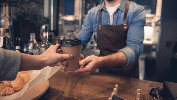 A new coffee shop in Providence, Rhode Island allows students to give personal information for free coffee. (iStock)