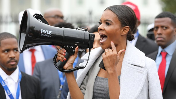 Turning Point's Communications Director Candace Owens (pictured) told Fox News that the YBLS is working to change the narrative when it comes to President Trump and the Democratic Party for black Americans.